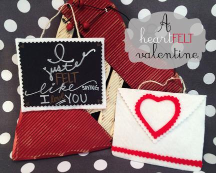 A Homemade and HeartFELT Valentine's Day DIY Craft