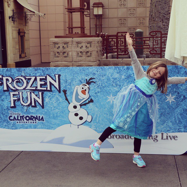 Do you want to build a snowman? We do! Today I'm checking out #FrozenFun at #Disneyland & #CAAdventure and tonight I'll have some exciting news about the 70th Diamond Celebration to share! #Disney #Disneyside