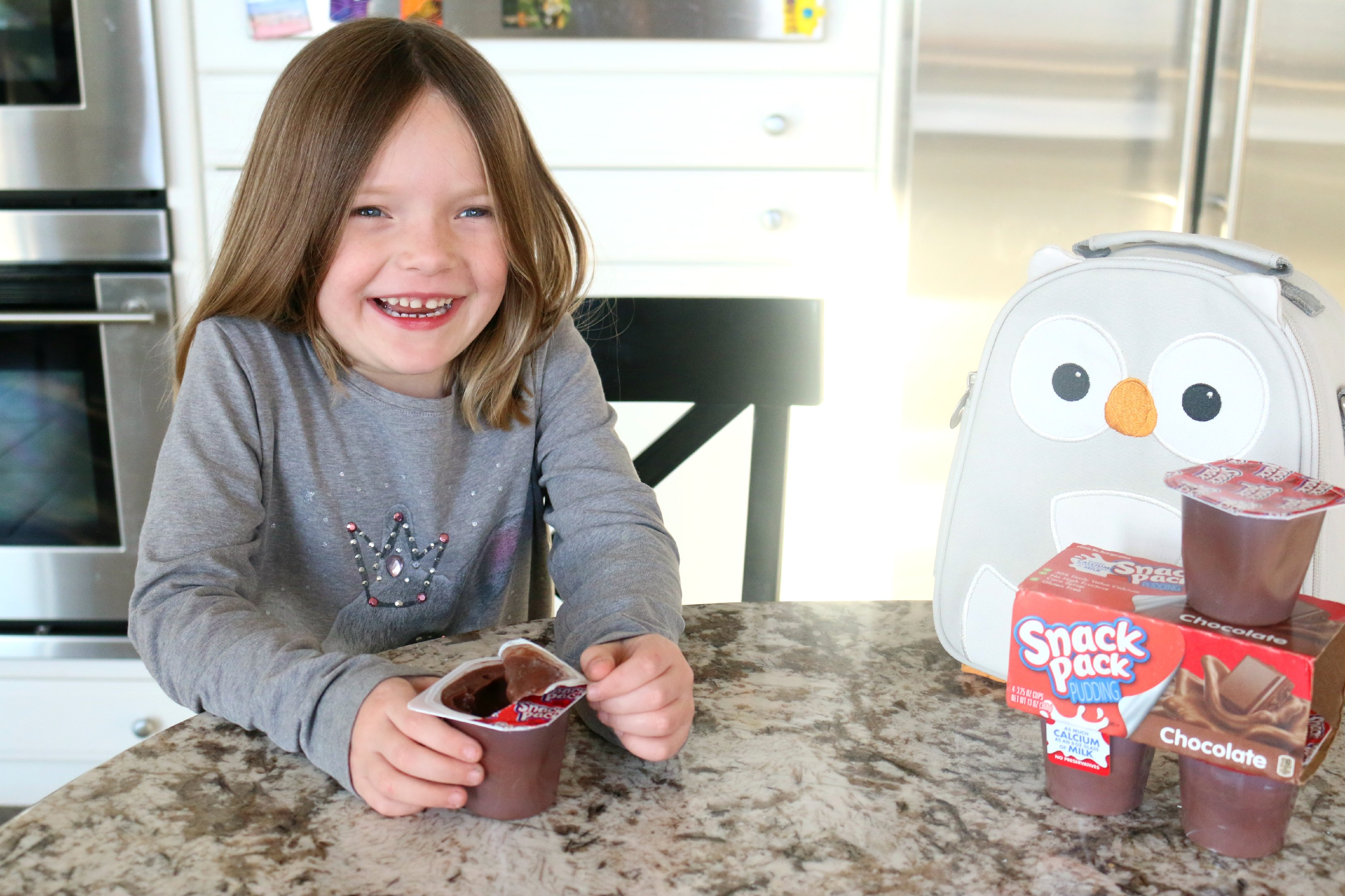 easy open chocolate pudding