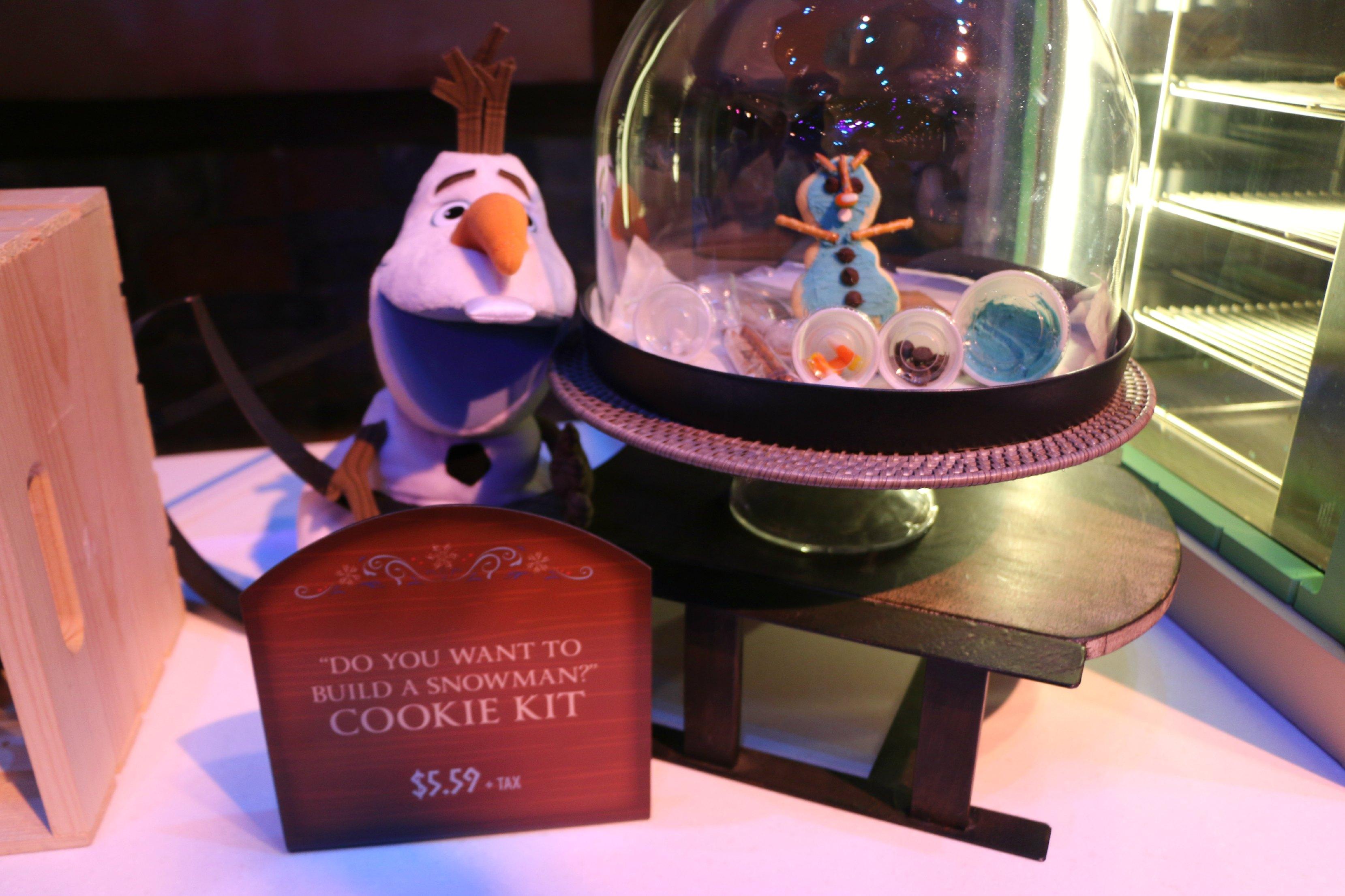 olaf cookie building kit