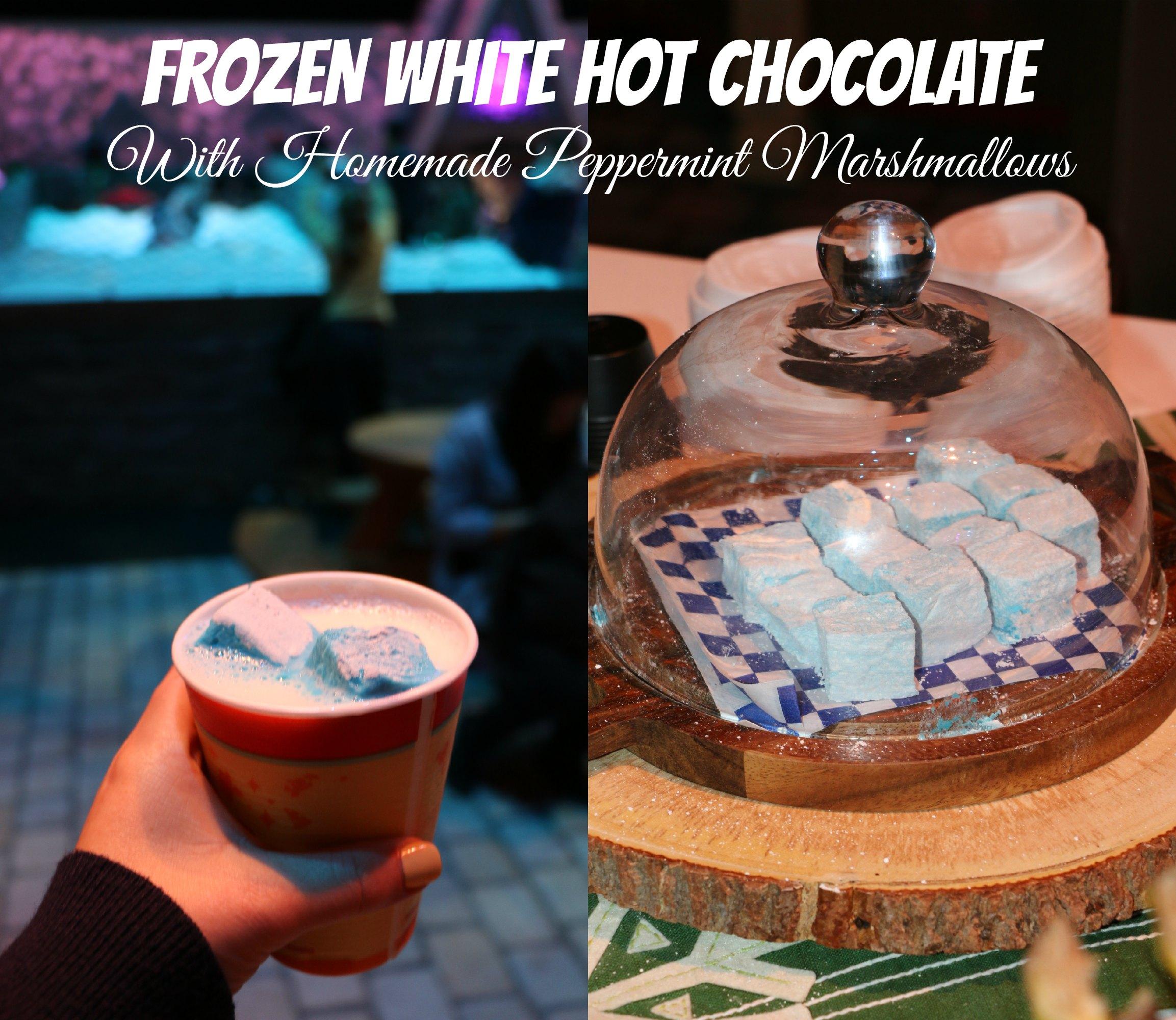 ... snowman peppermint white hot chocolate peppermint white chocolate hot