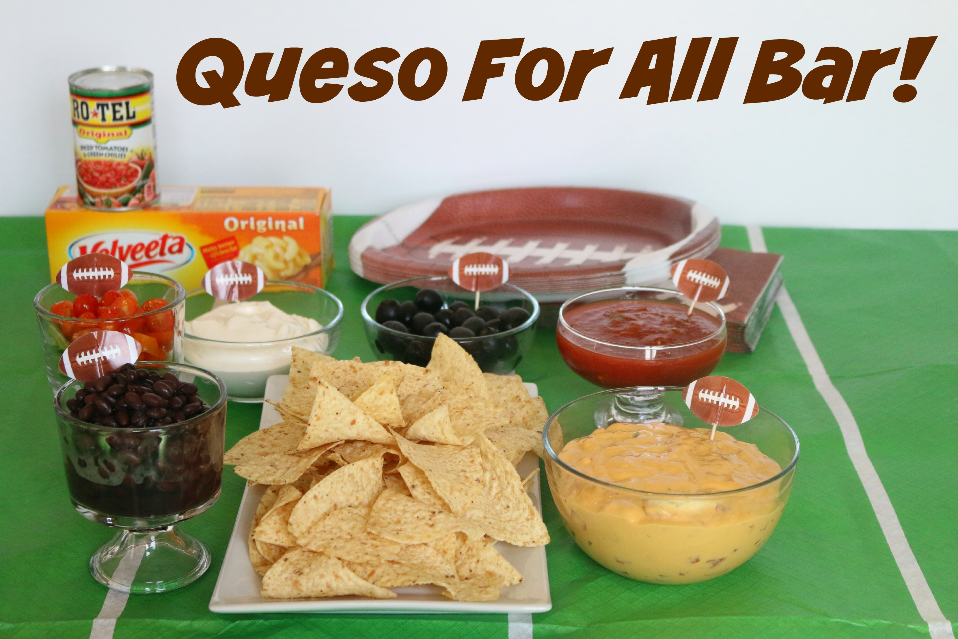 queso for all bar