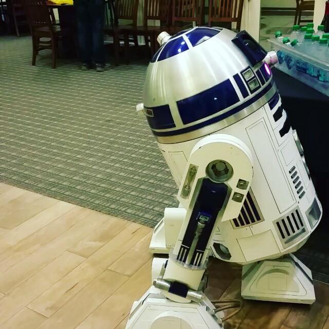 Meeting a hero in person at Lucasfilm Studios! #LegoDad #Dad2Summit #LucasFilm #SanFrancisco
