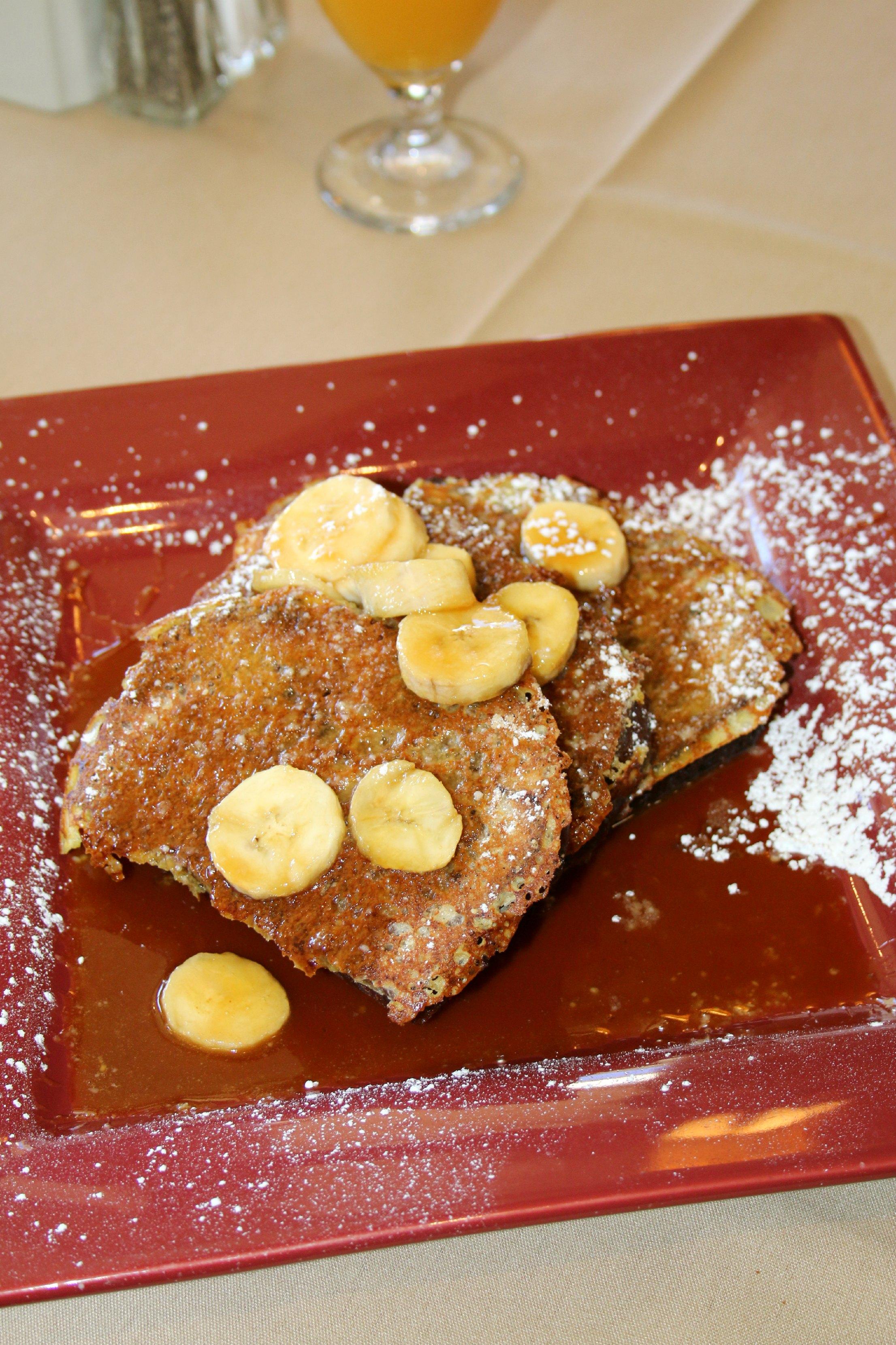 banana nut bread french toast