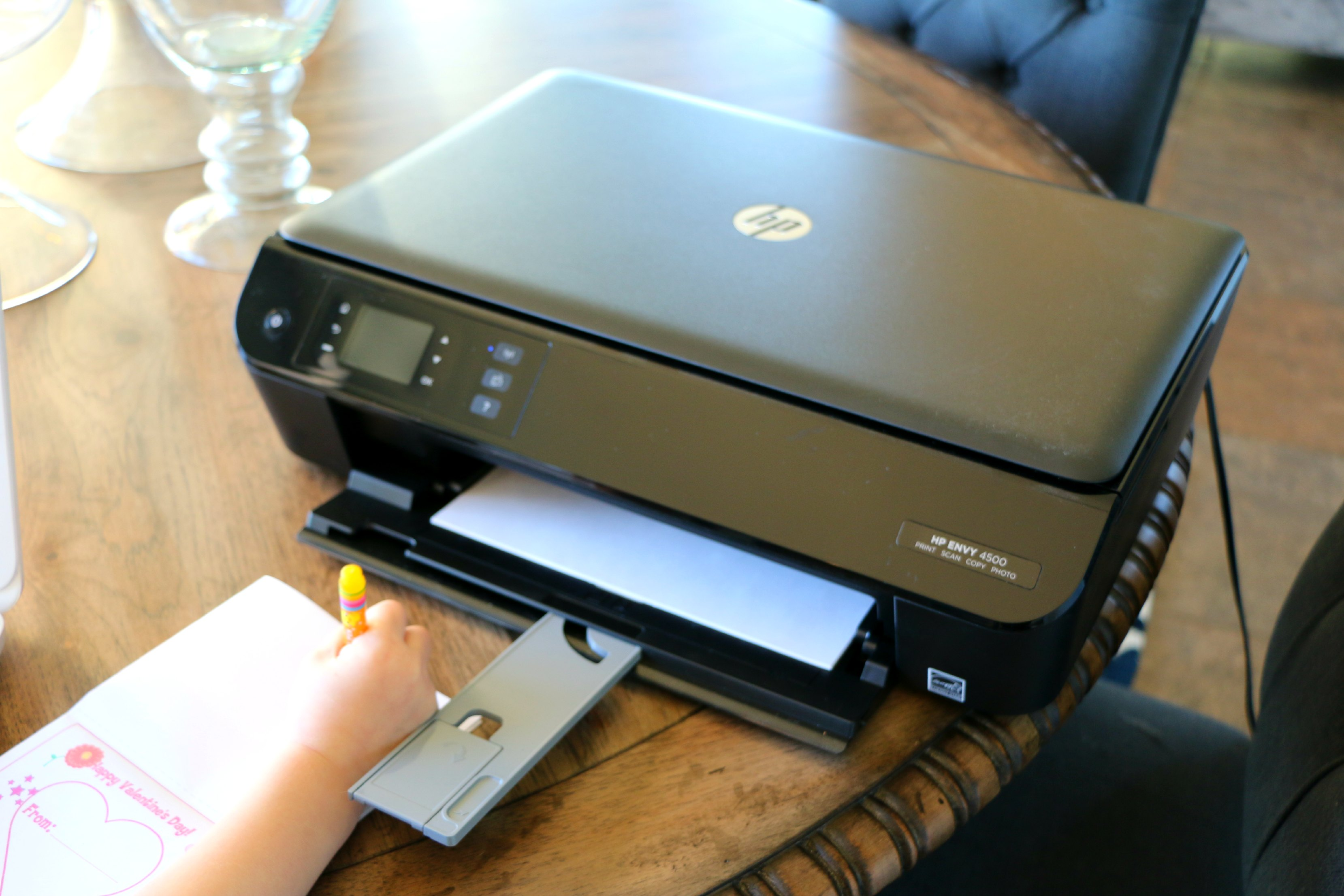 hp envy with auto ink refills