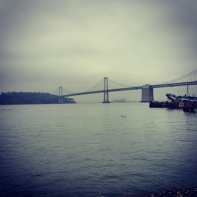 As long as I'm by the water I am happy... #SanFrancisco #Travel #Dad2Summit