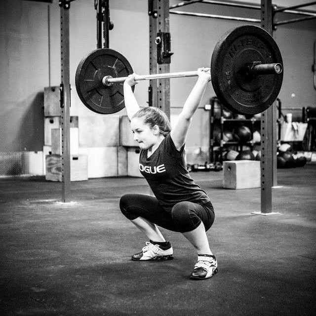 So proud of my awesome daughter @teenfitpro and her dedication to #crossfit and her health <3 Love this picture taken by @kellykirsh