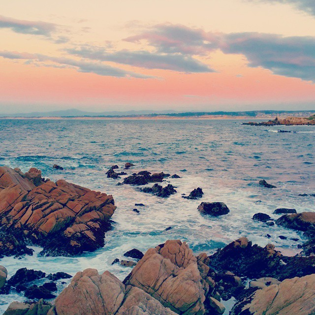 Planning our travel calendar for the second half of 2015 and into 2016 and my mind always wanders back to past travels. ♡♡♡ #monterey #pacificgrove #sunset #sunrise #sun  #sky #nature #clouds #horizon #photooftheday #instagood  #morning #instasky #all_sunsets #travel #traveling  #vacation #visiting #instatravel #instago #trip #holiday  #travelling #tourism #tourist #instatraveling #mytravelgram #travelgram #travelingram #igtravel