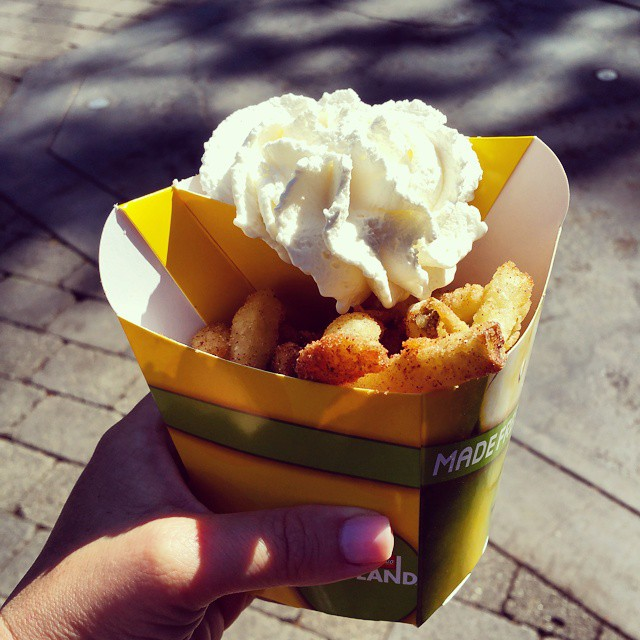 I come to @LEGOLAND_CA for the rides... and the apple fries! They taste so good! #LEGOLANDCA  #dessert #food #desserts #yum #yummy #amazing #instagood #instafood #sweet #icecream #delish #foods #delicious #tasty #eat #eating #hungry #foodpics #sweettooth
