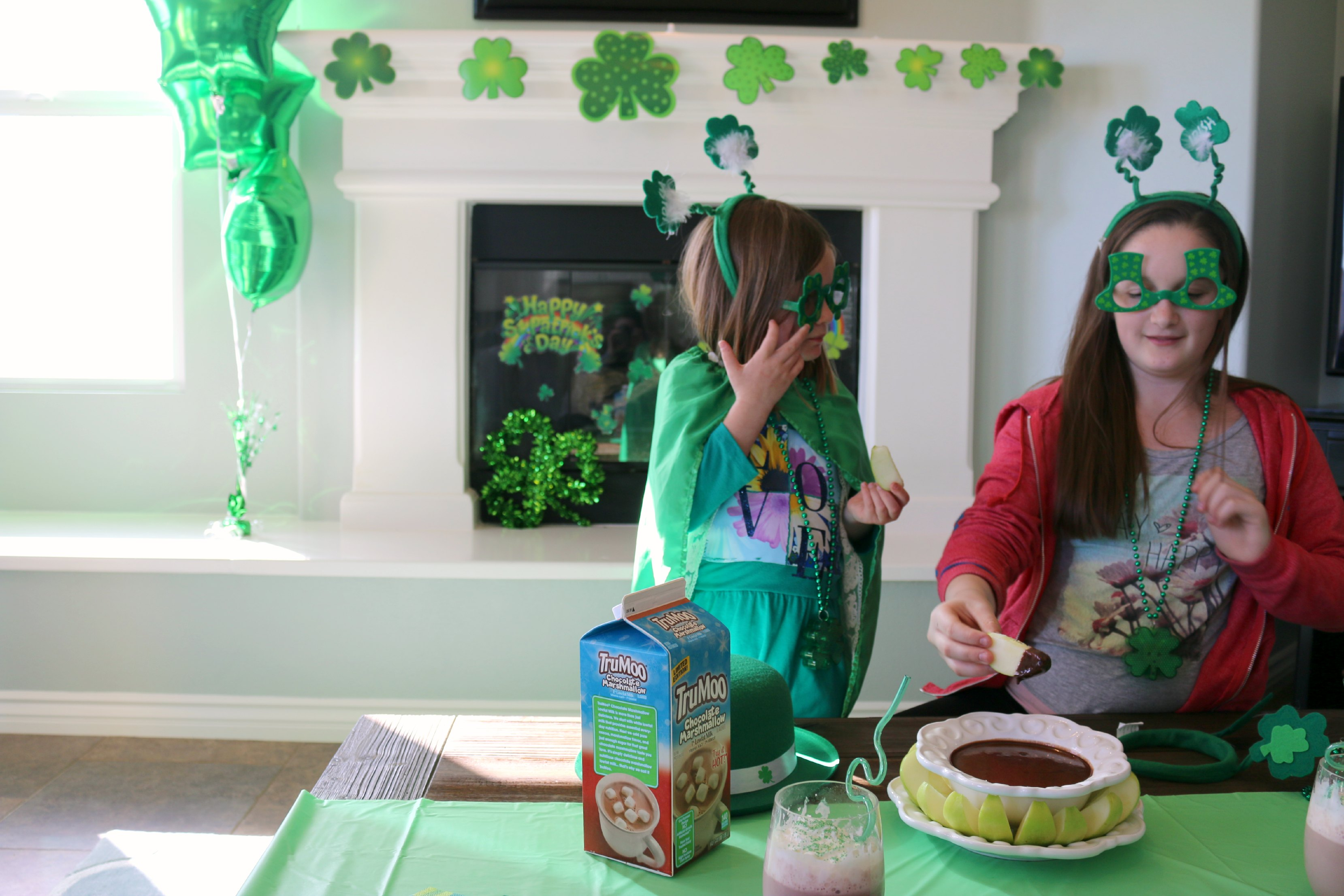 party food st patrics day