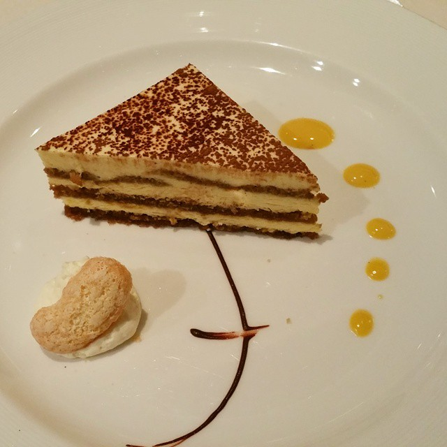 Different day. Different tiramisu. Still awesome. I haven't met a dessert on this cruise I haven't loved! #comebacknew #princesscruises #crownprincess #familytravel ♡♡♡♡♡ #dessert #food #desserts  #yum #yummy #amazing #instagood #instafood #sweet #chocolate #cake #icecream #delish #foods #delicious #tasty #eat #eating #hungry #foodpics #sweettooth