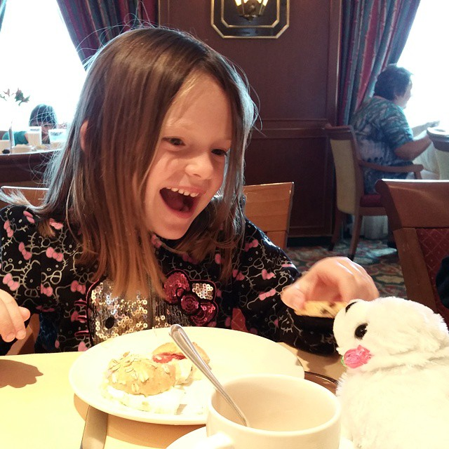 Tea for two aboard the Crown Princess. They both had a blast! #comebacknew ♡♡♡♡♡ #travel #familytravel #tea #teatime #instatea  #tealife #ilovetea  #teagram #drink #hot #mug #teaoftheday #teacup #teastagram  #tealove #tealife #cruise #crownprincess #afternoontea