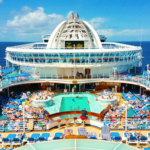 This is one of my favorite places on the Crown Princess!  Plus Day 4 recap is on the blog (link in profile). #comebacknew #princesscruises ♡♡♡♡♡ #travel #traveling #vacation #visiting #instatravel #instago #instagood #trip #holiday #photooftheday #fun #travelling #tourism #tourist #instapassport #instatraveling #mytravelgram #travelgram #travelingram #igtravel