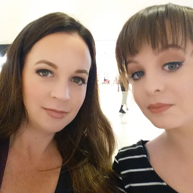 This is what happens when you and your 15 year old spend time together @maccosmetics Not our usual looks... but we had fun and I bought a bunch of new colors for spring. ♡♡♡♡♡♡♡♡ #instagood #happy #mac #instadaily #makeup #fashion #igers #fun #bestoftheday #friends #daughter #family