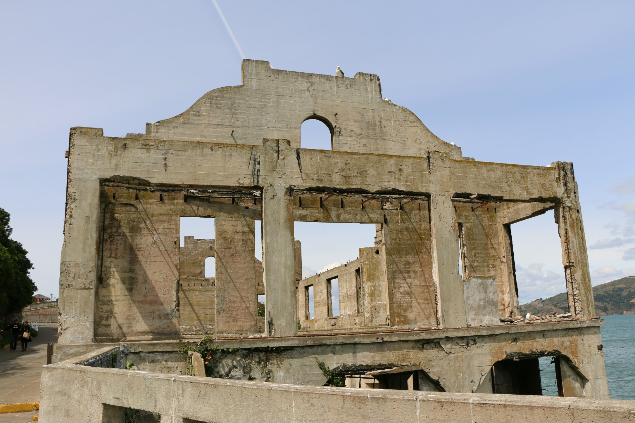 building on alcatraz
