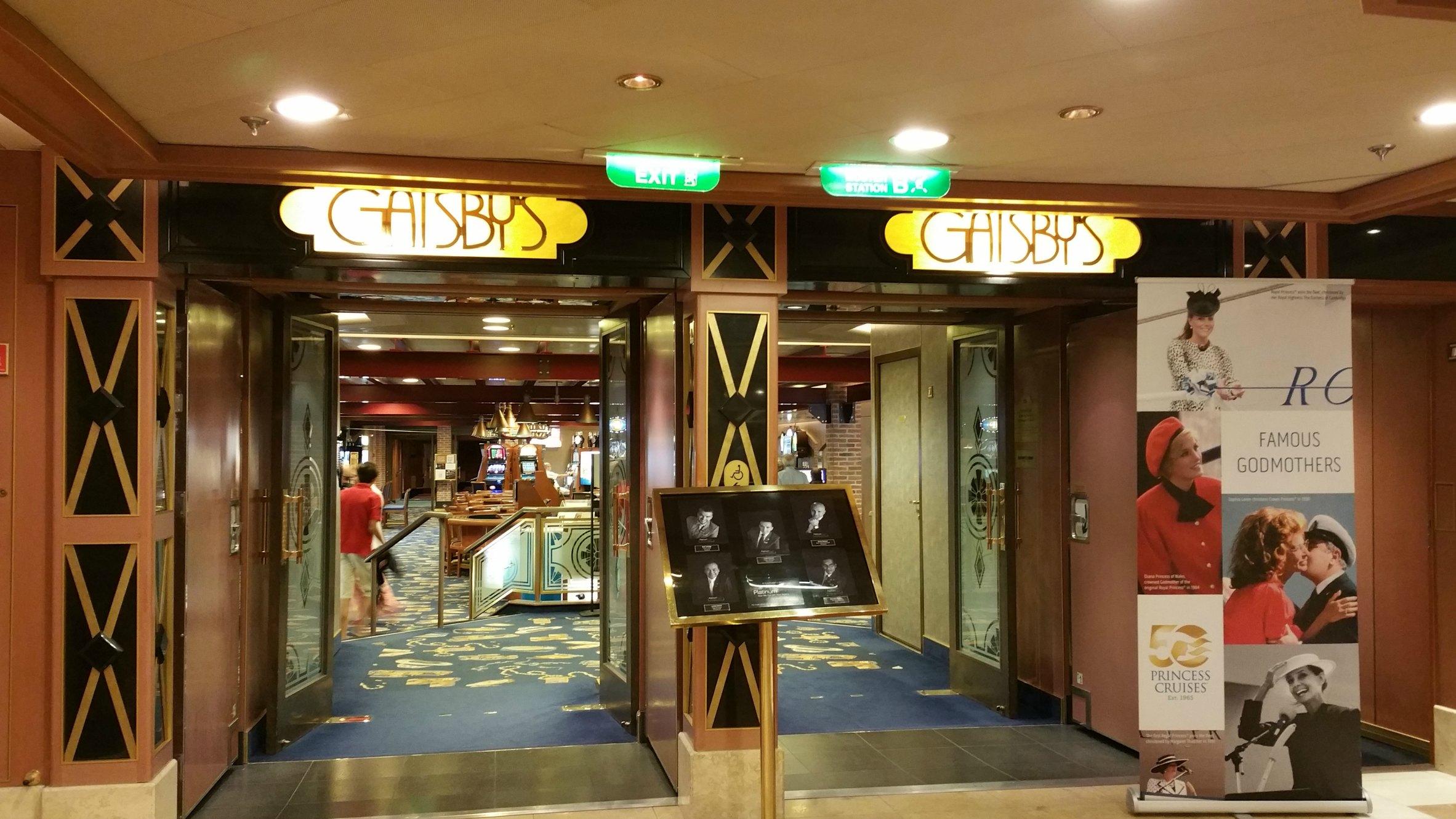 casino princess cruises