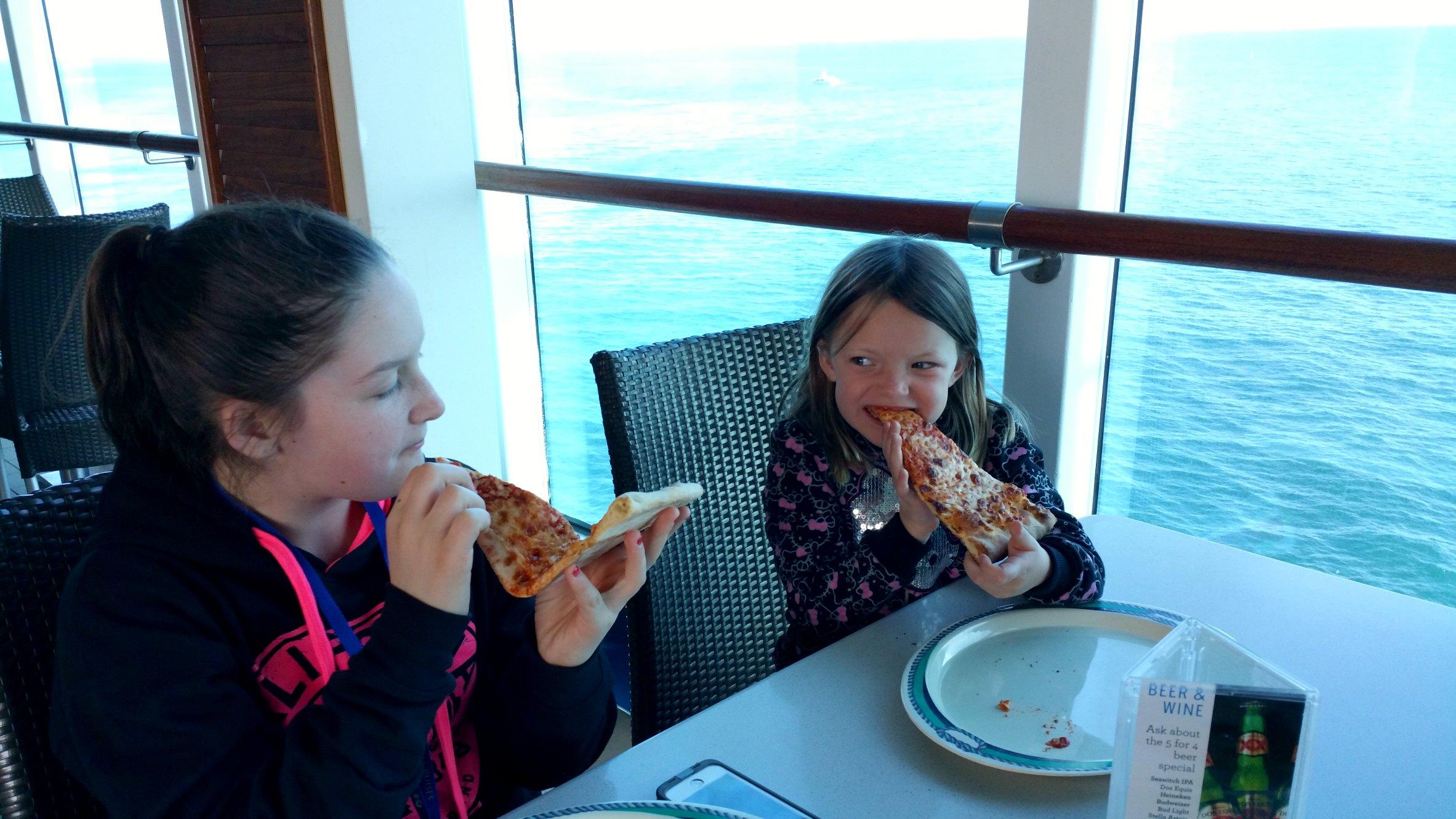 crown princess cruise pizza