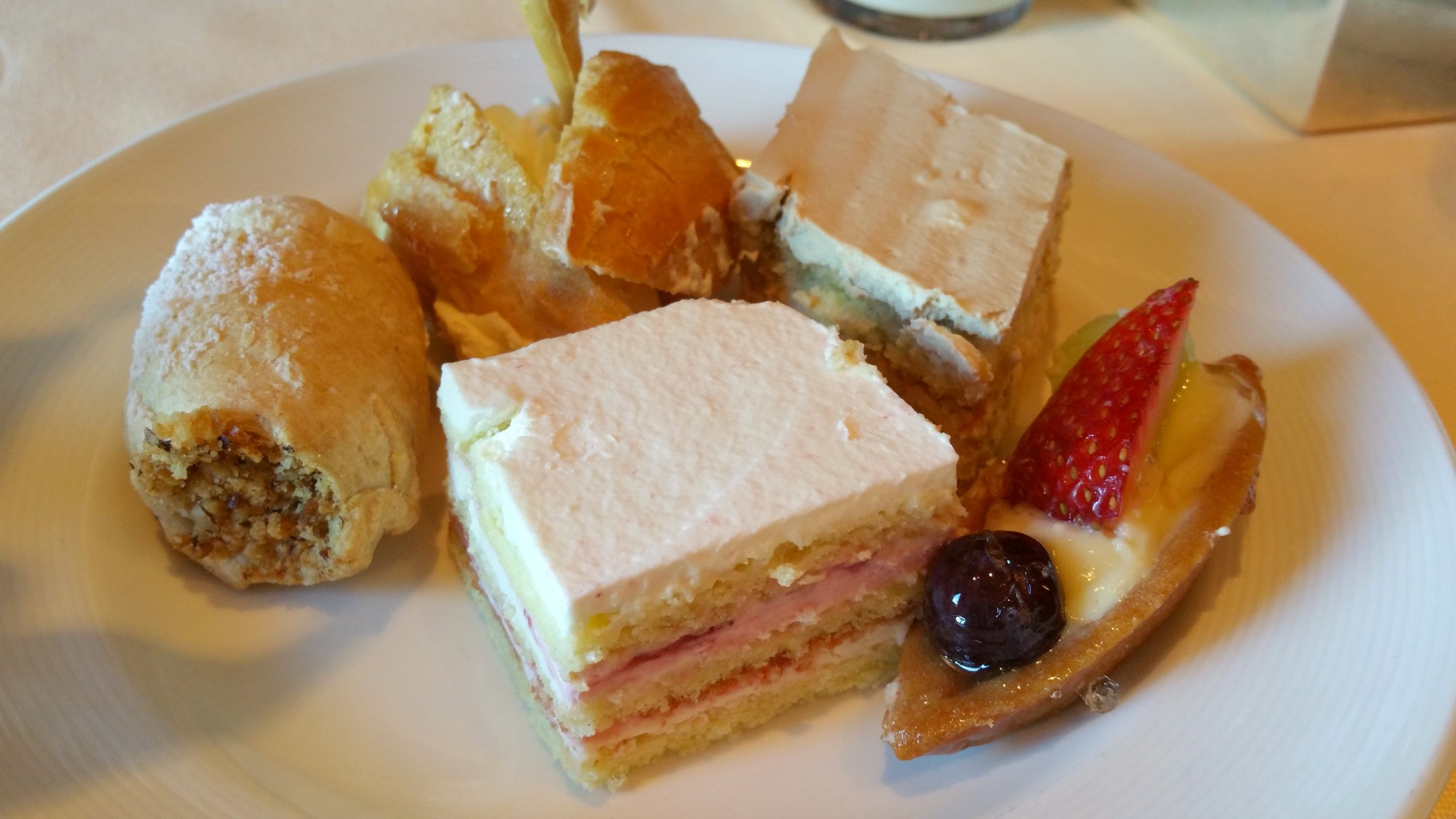 dessert afternoon tea
