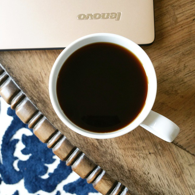 Second cup of the day! How many have you had? Now to get back to work! Did you enter my giveaway for a @Lenovo YOGA 3 Pro? Link in profile... #cleveryoga #ad #giveaway #techie #coffeetime #coffee
