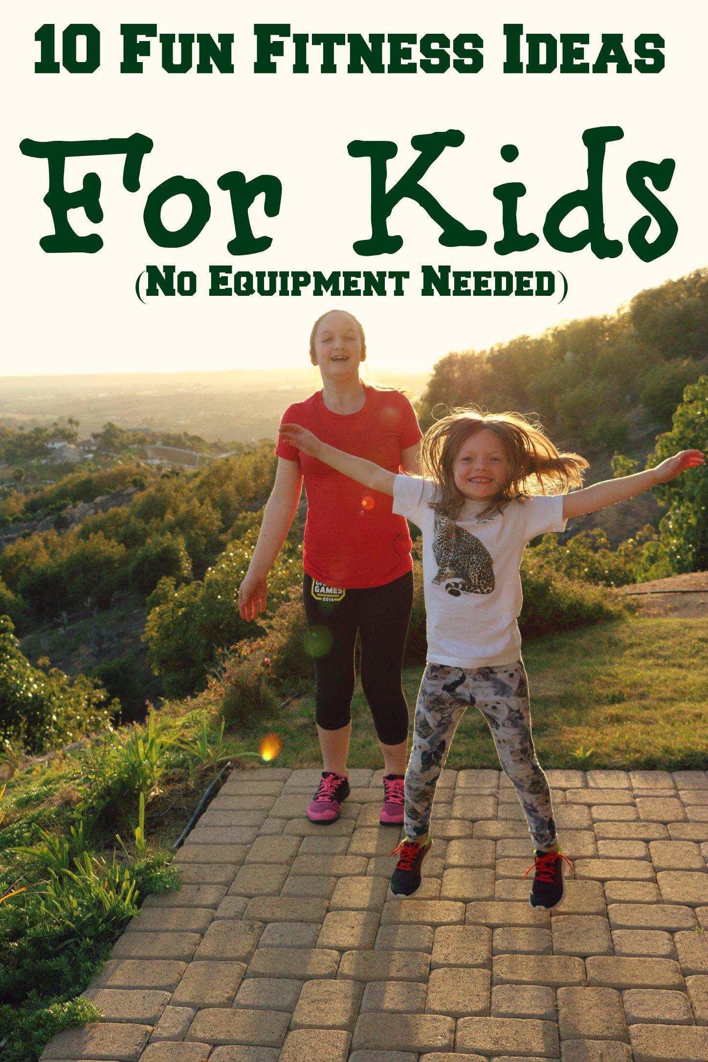 kids fitness ideas
