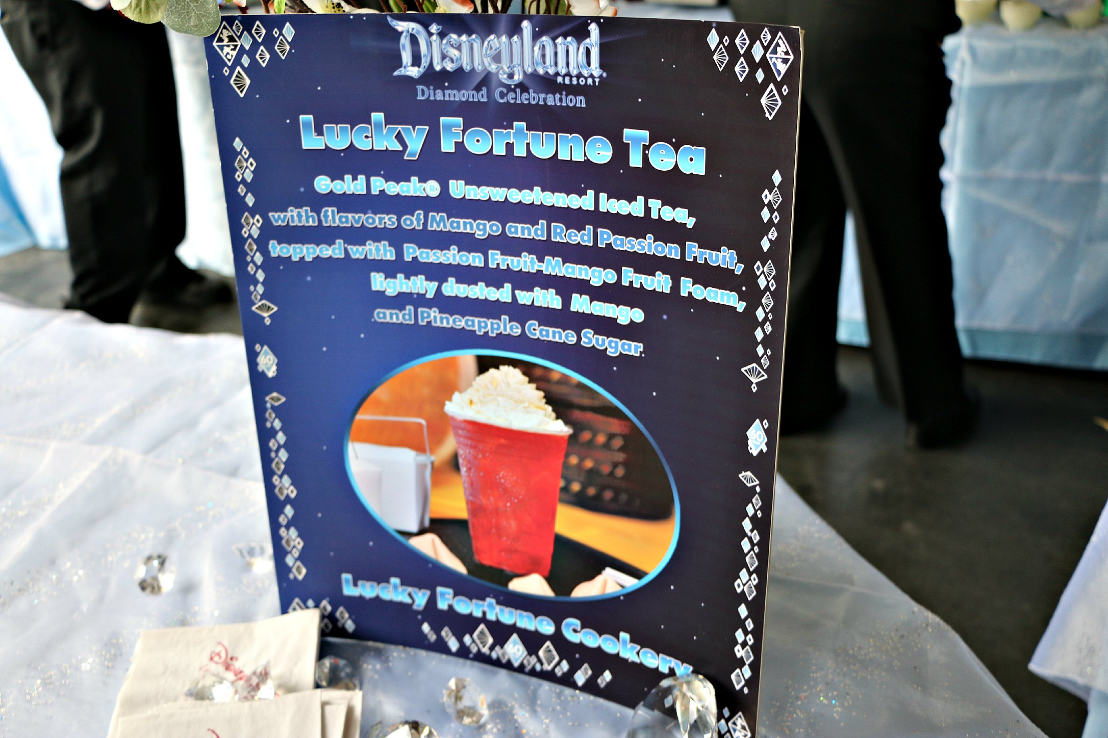 lucky fortune tea