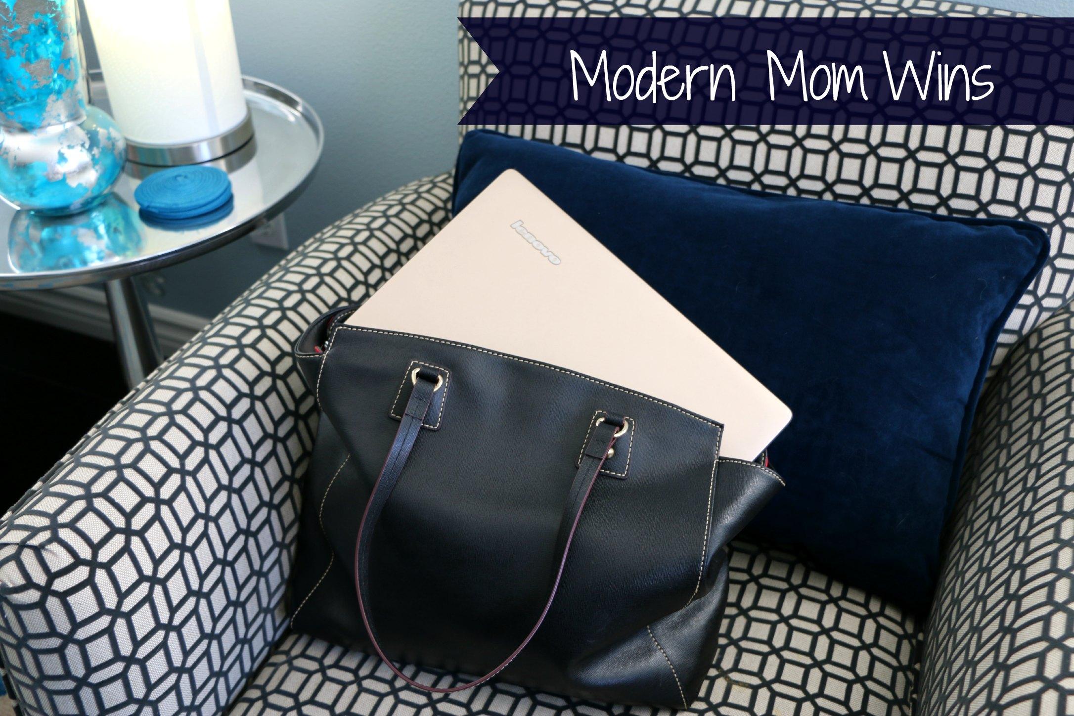 modern mom wins with lenovo