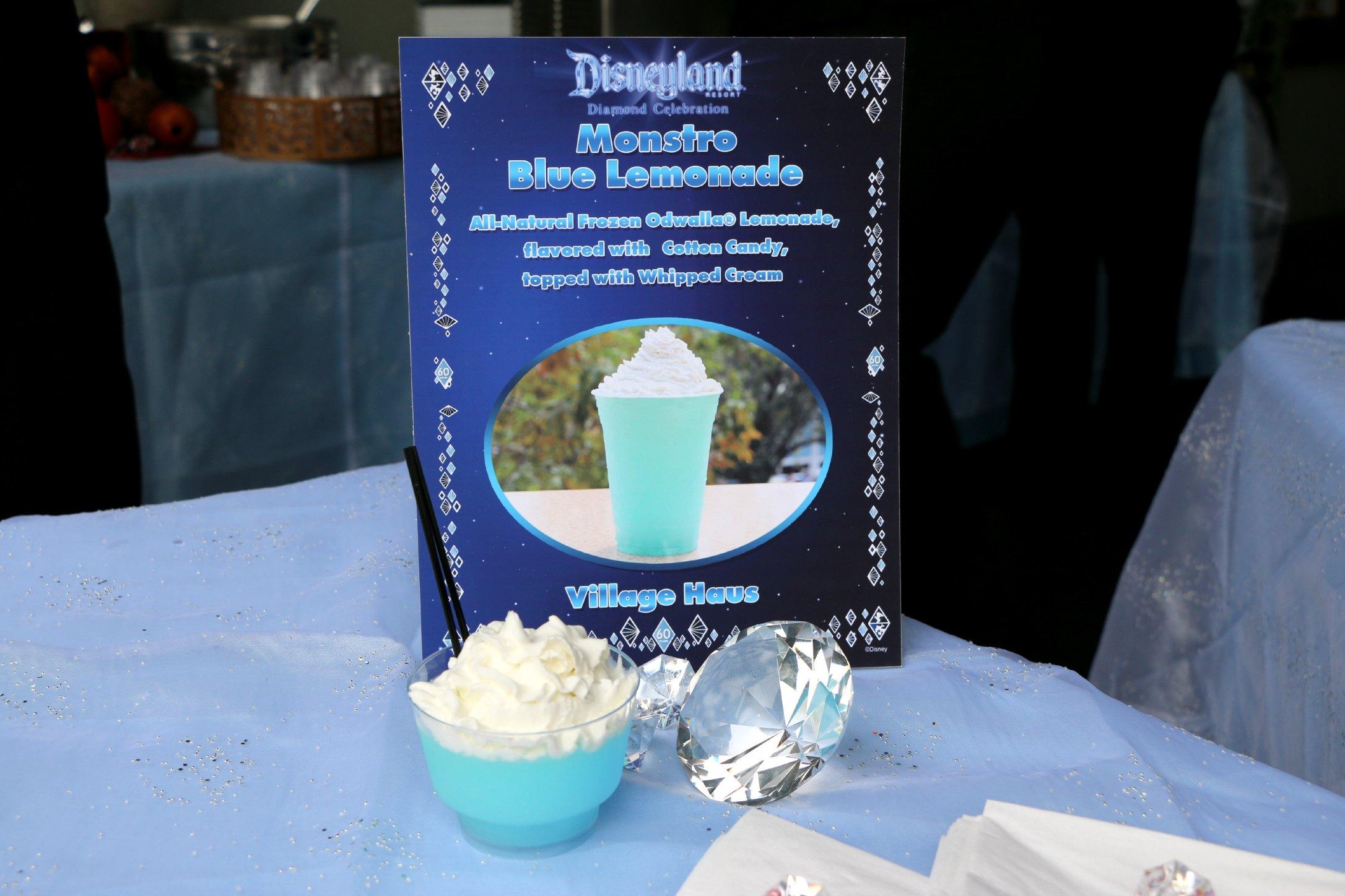 monstro blue lemonade disneyland