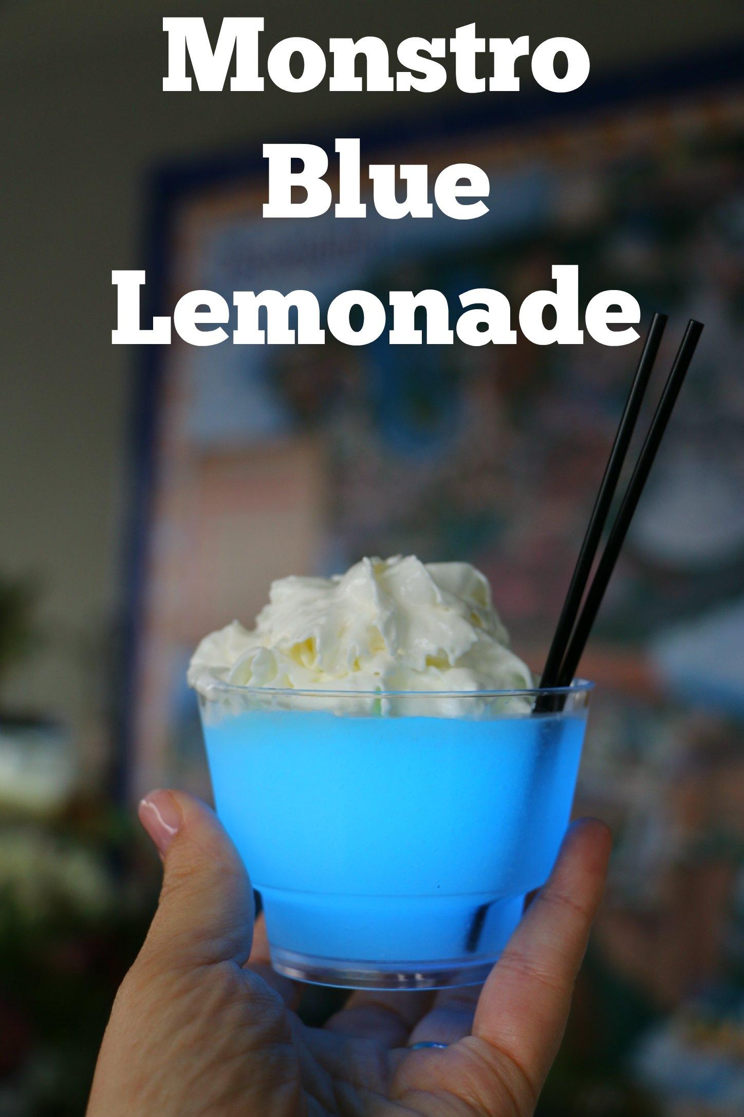 monstro blue lemonade