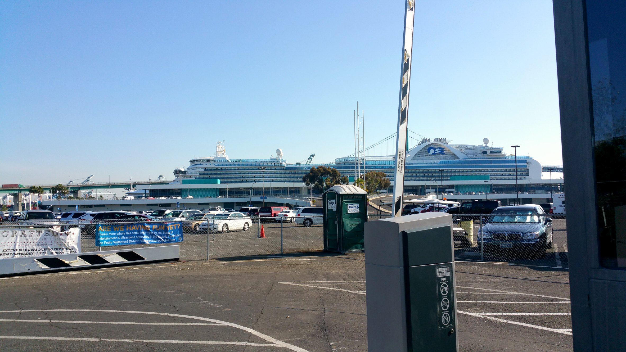 princess cruises san pedro