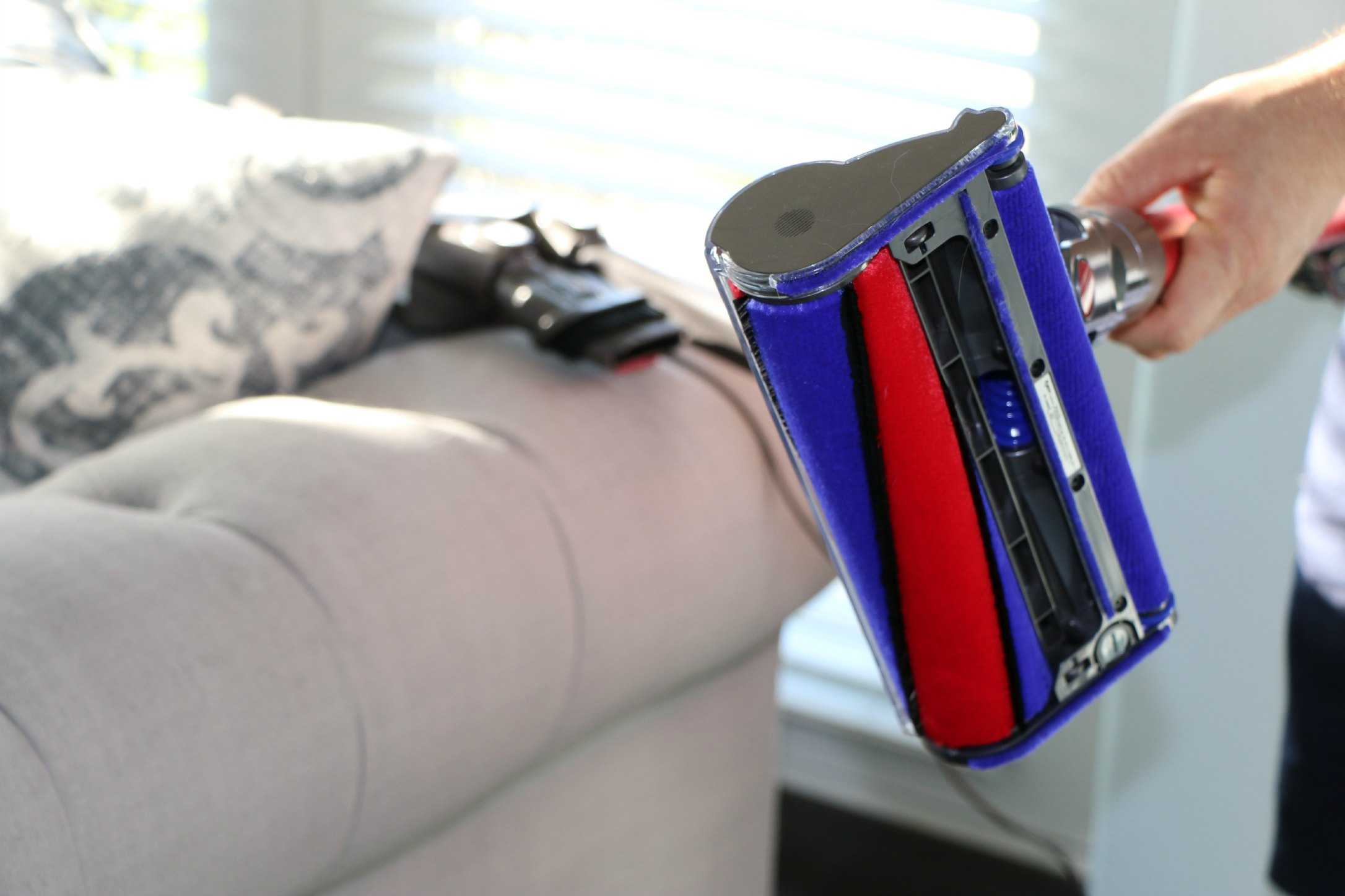 review of new dyson stick vacuum