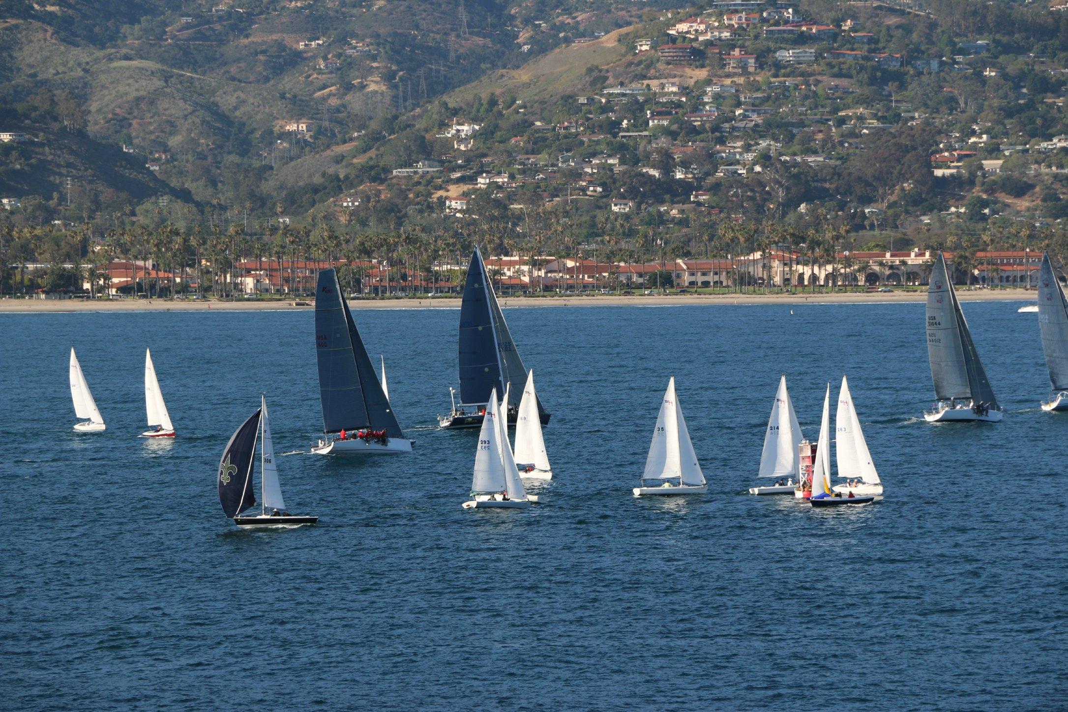 sail boats santa barbara