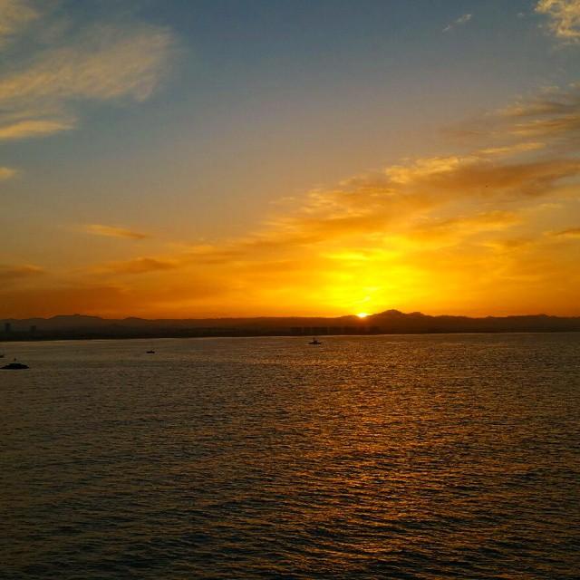 Sunrise over Mexico... ♡♡♡♡♡