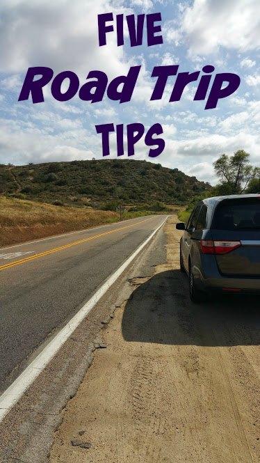 five road trip tips