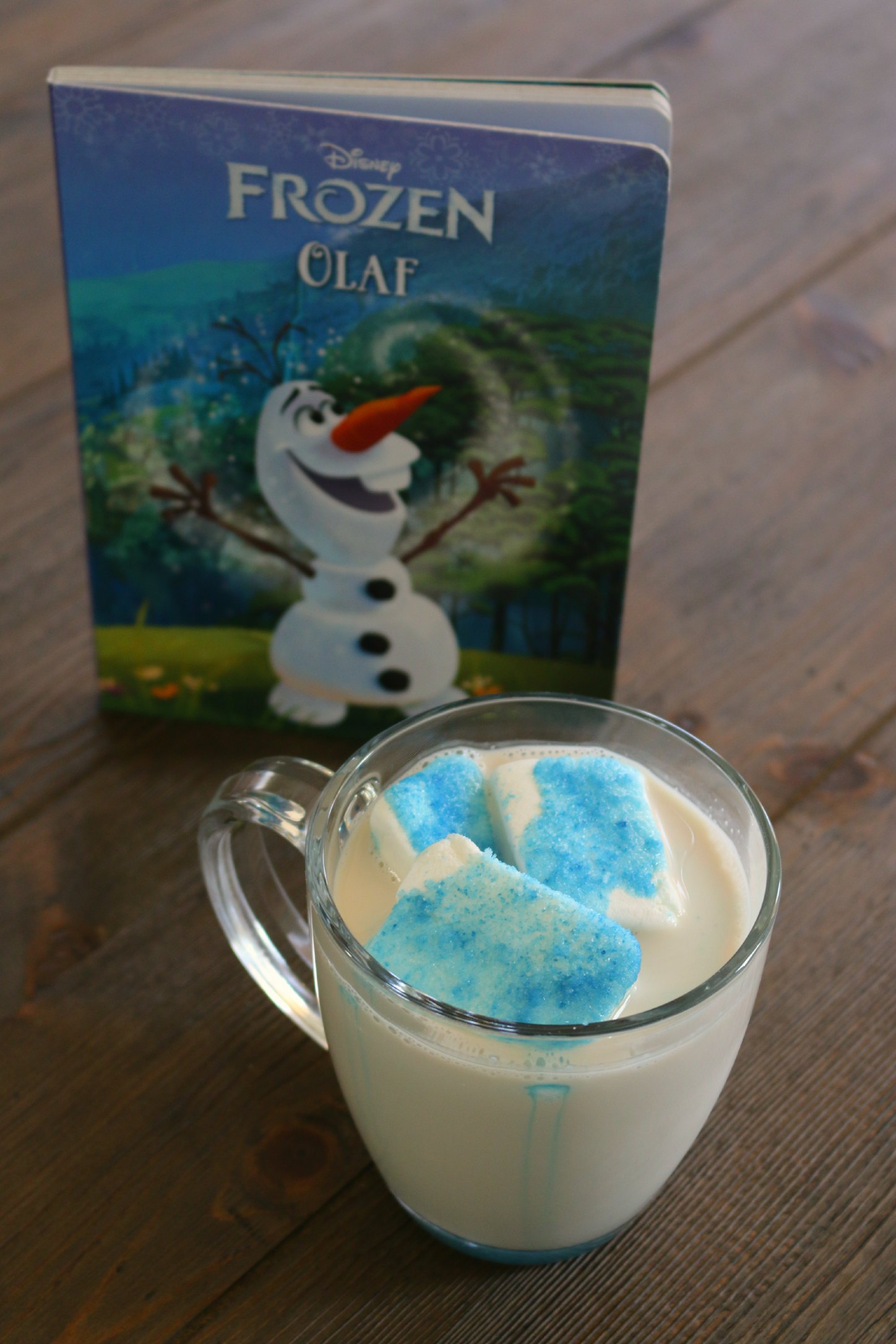 frozen olaf hot chocolate