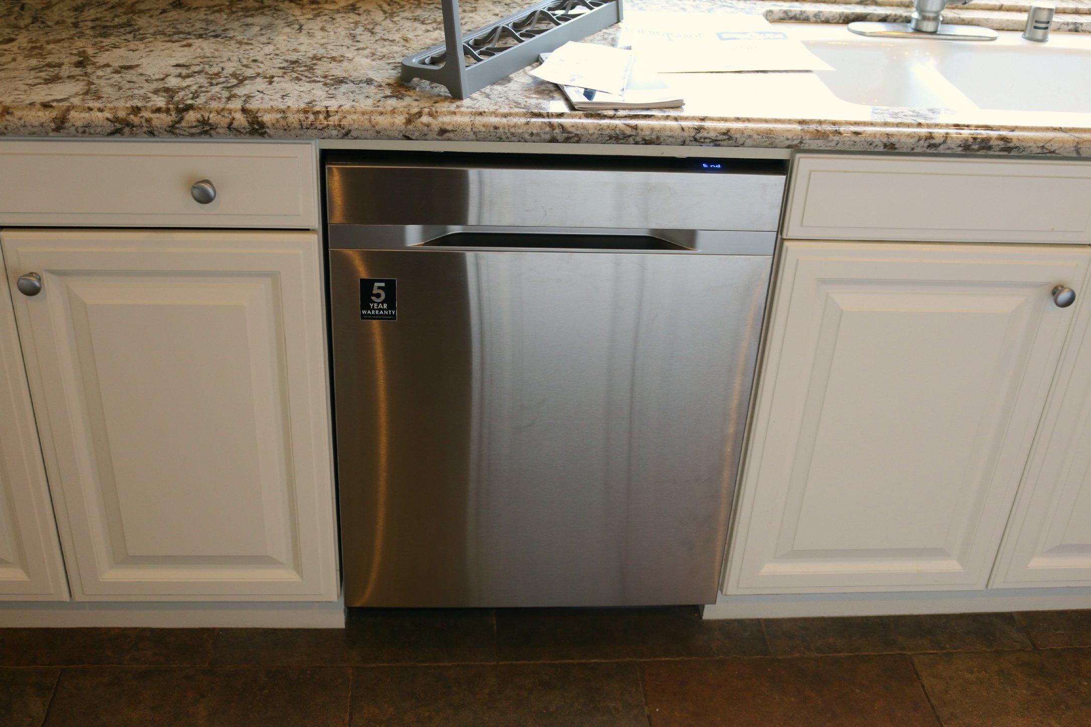new dishwasher samgung