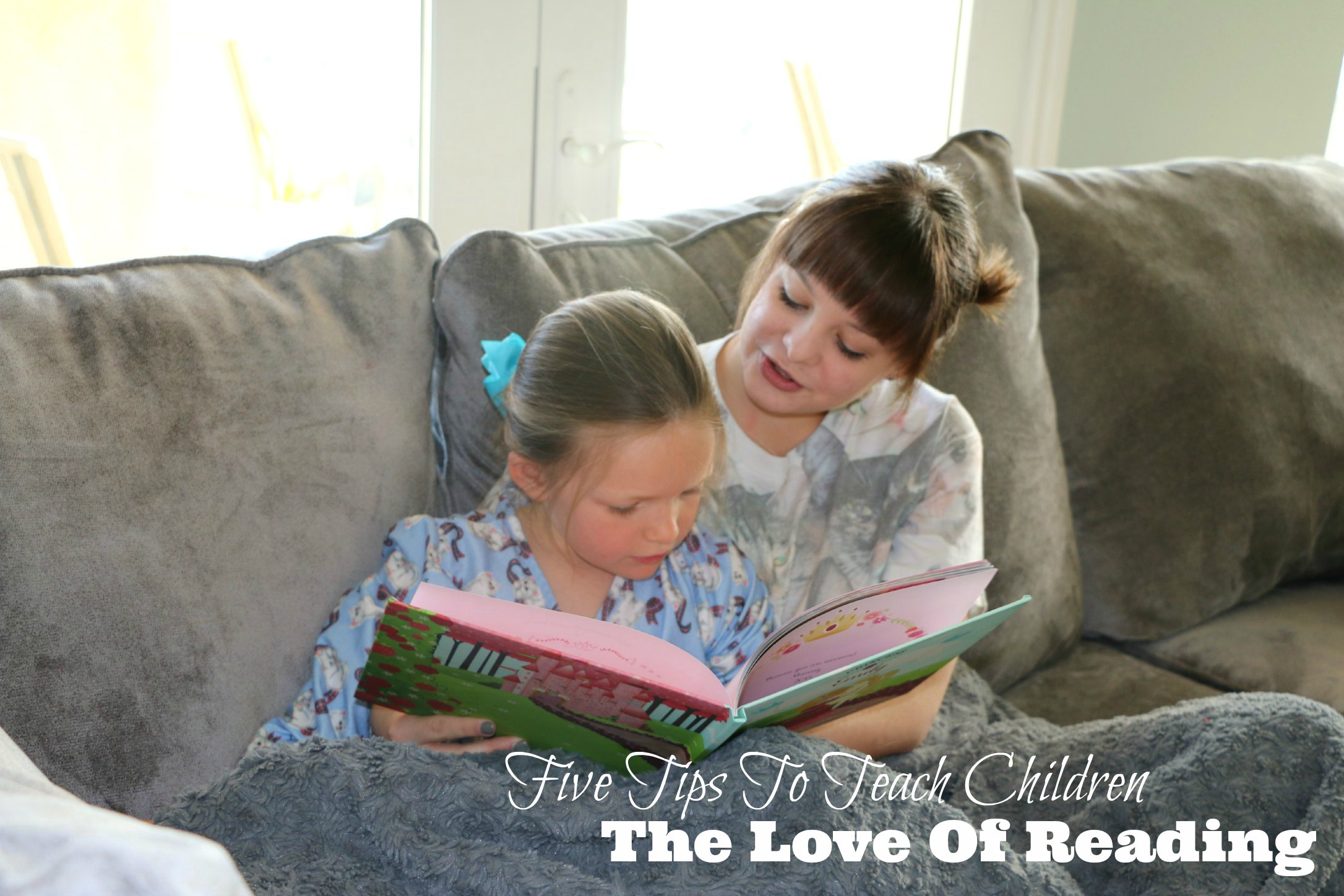 teaching children to love to read