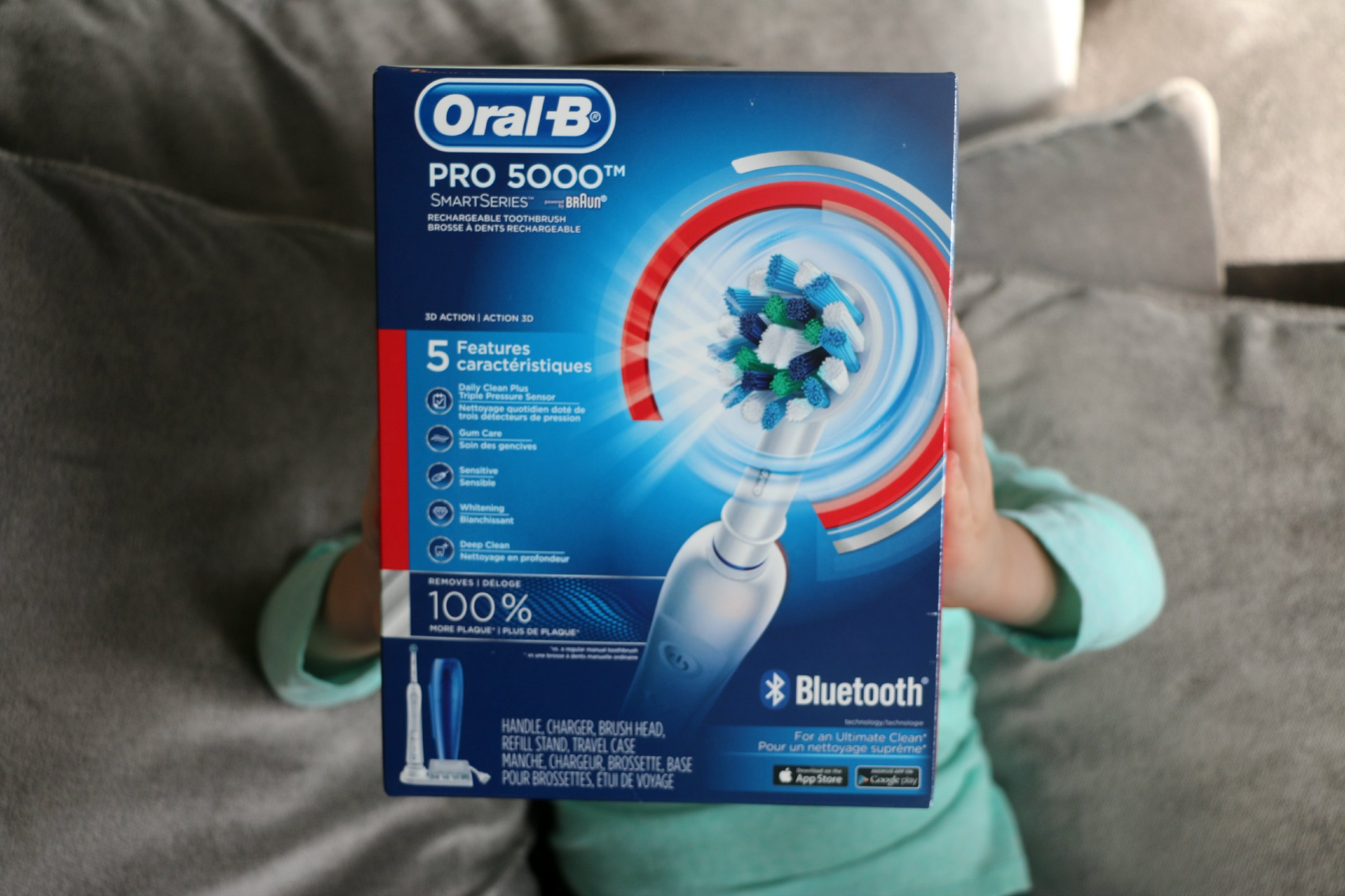 unique mothers day gift oral b toothbrush