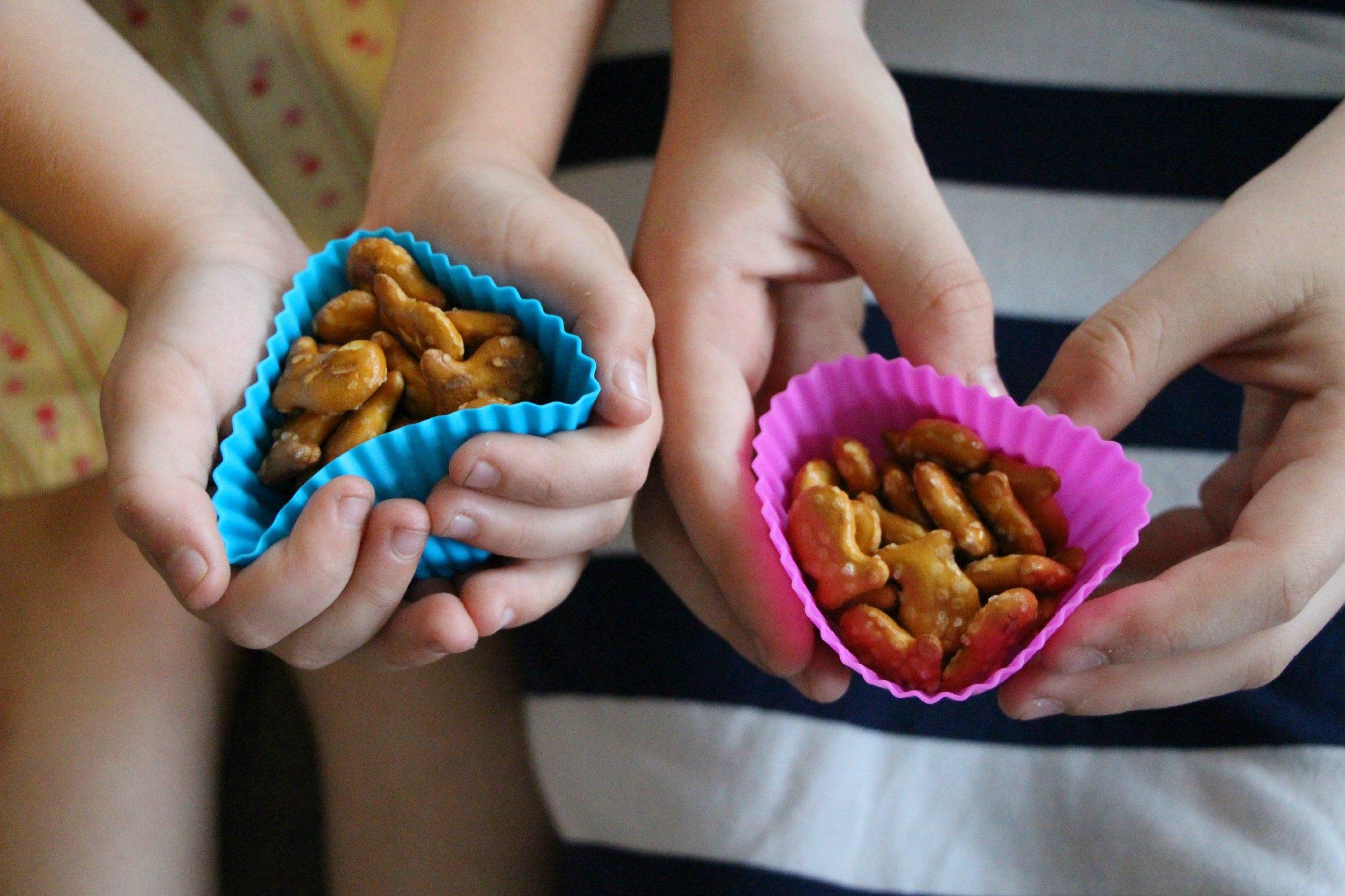 goldfish snacking