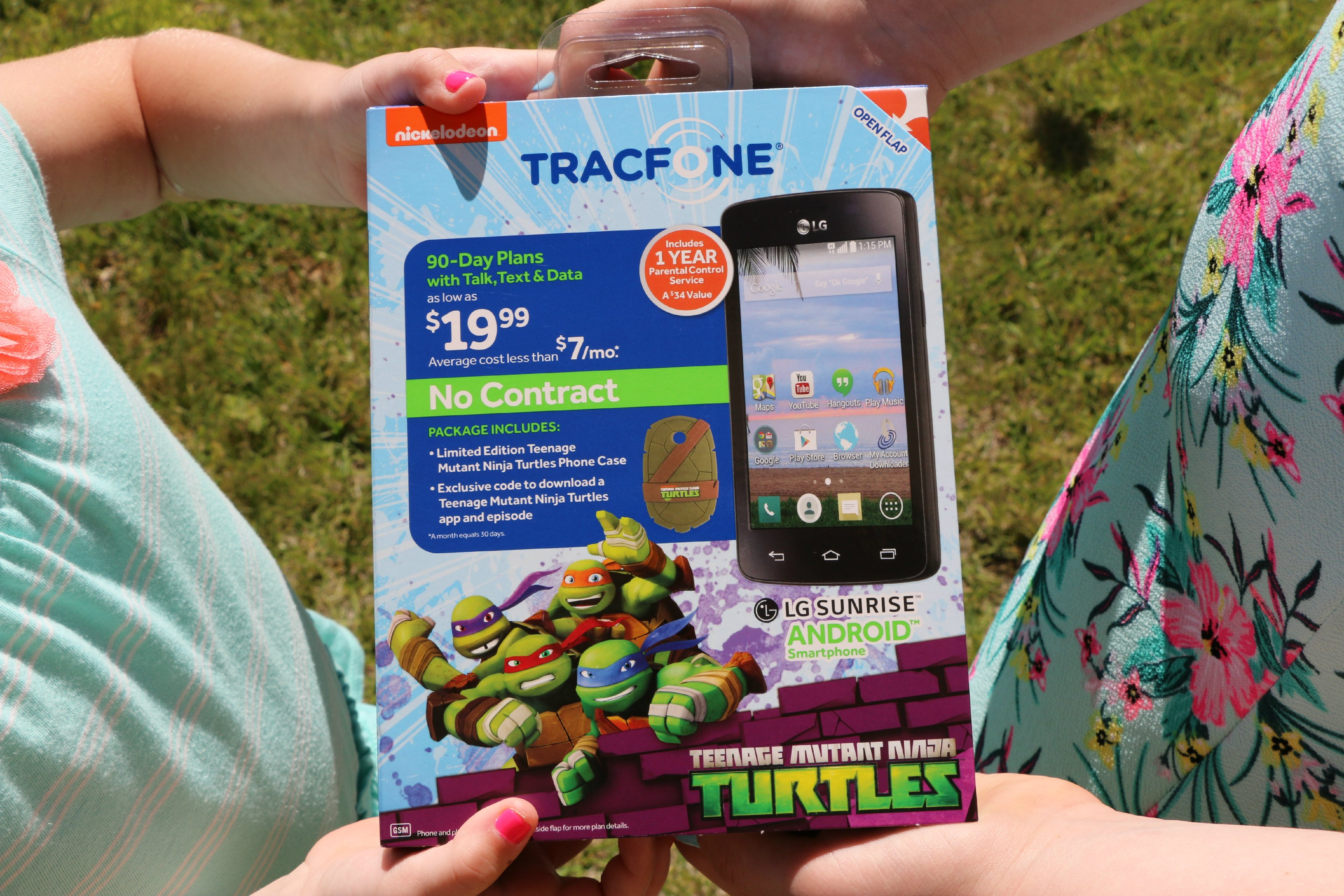 teenage mutant ninja turtles phone