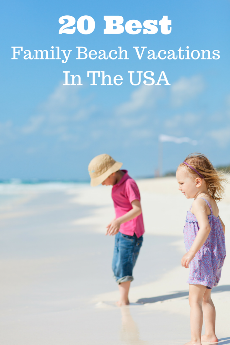 Top US Beach Vacations For Families