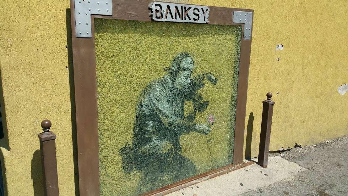 banksy in park city utah