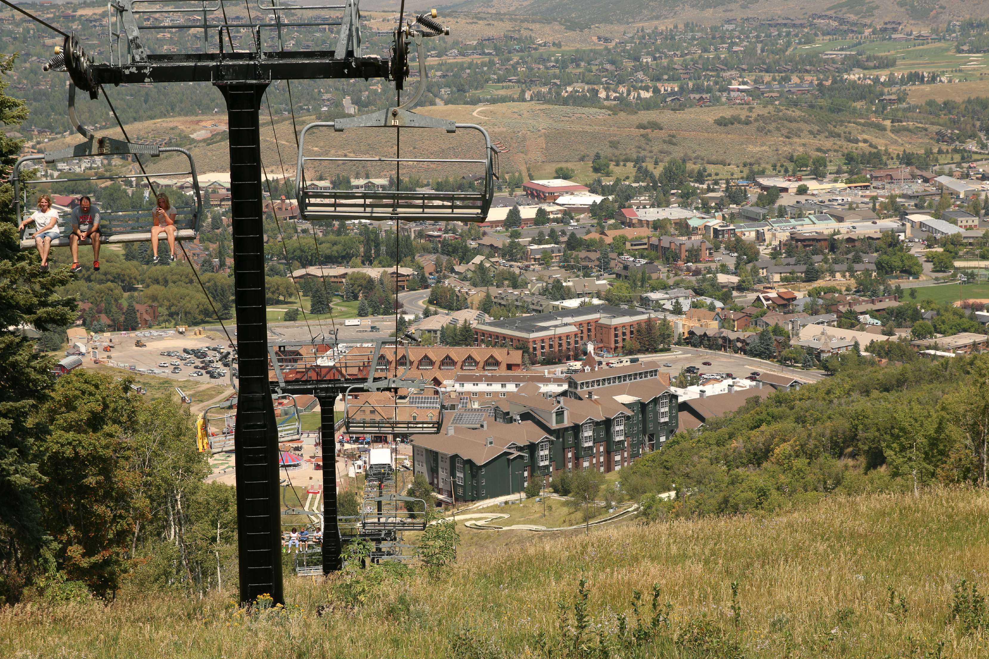 view above park city