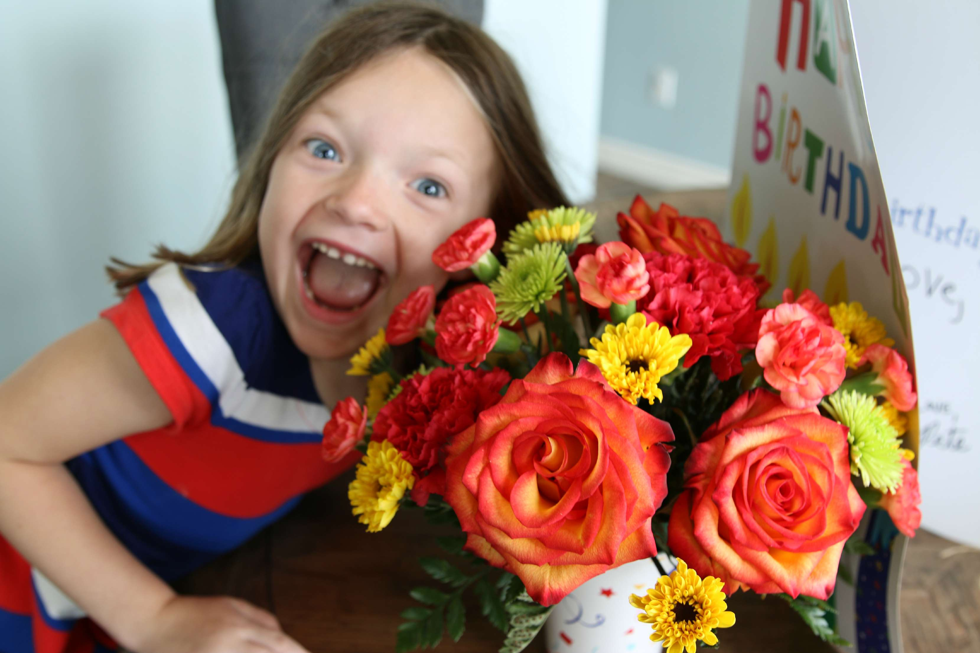 birthday surprise teleflora