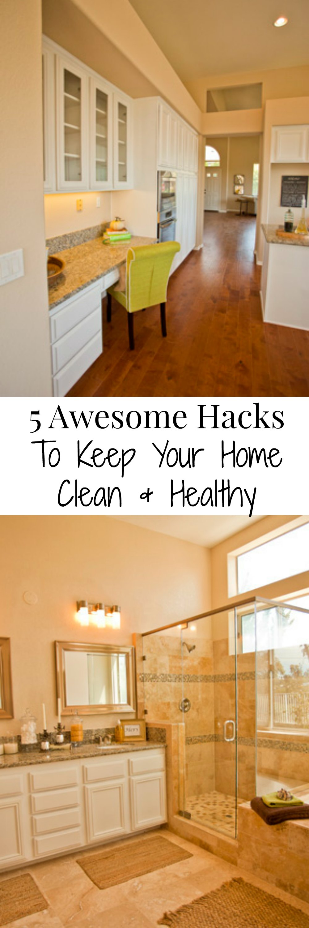 5 Awesome Hacks To Keep Your Home Clean & Healthy