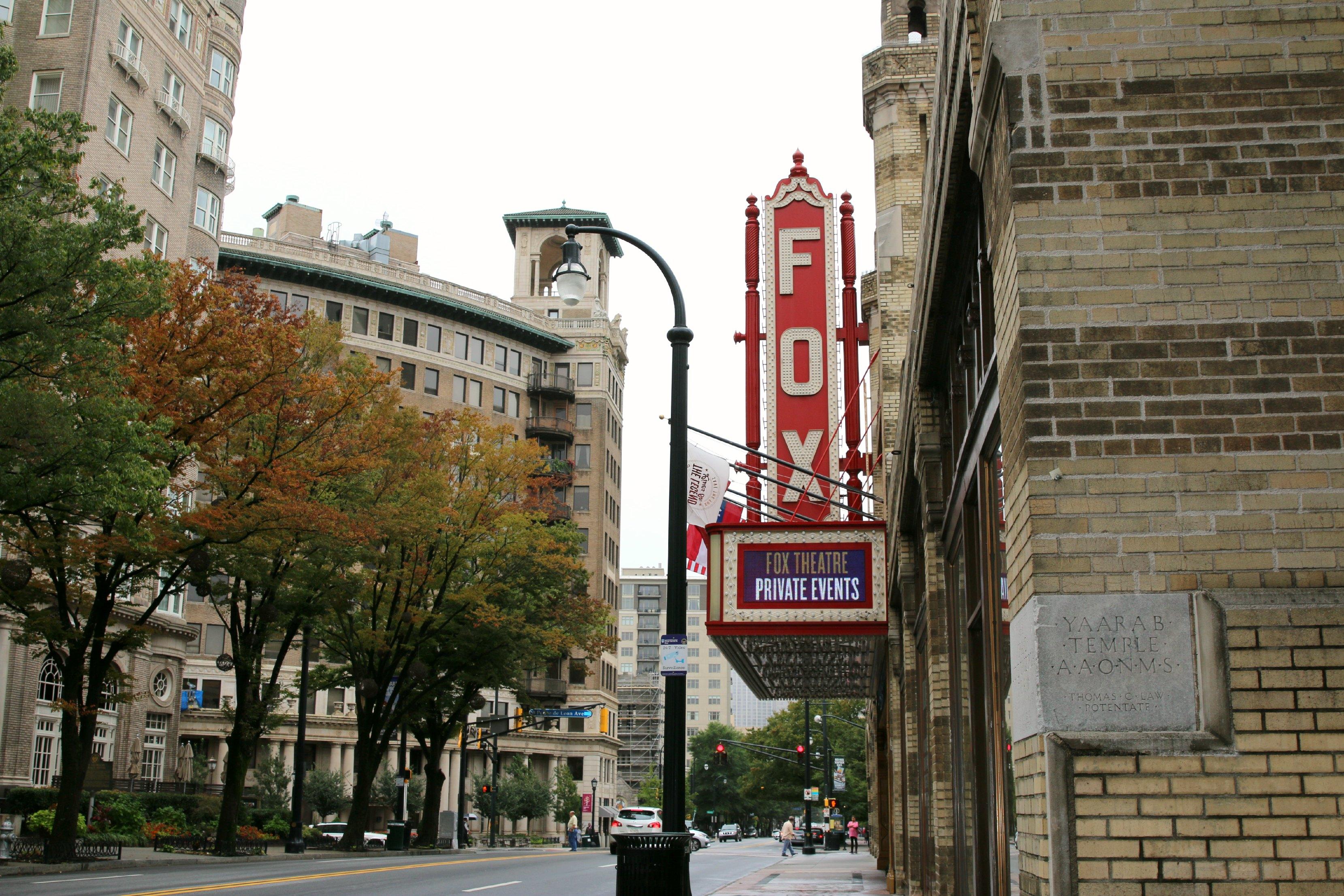 fox theater tour