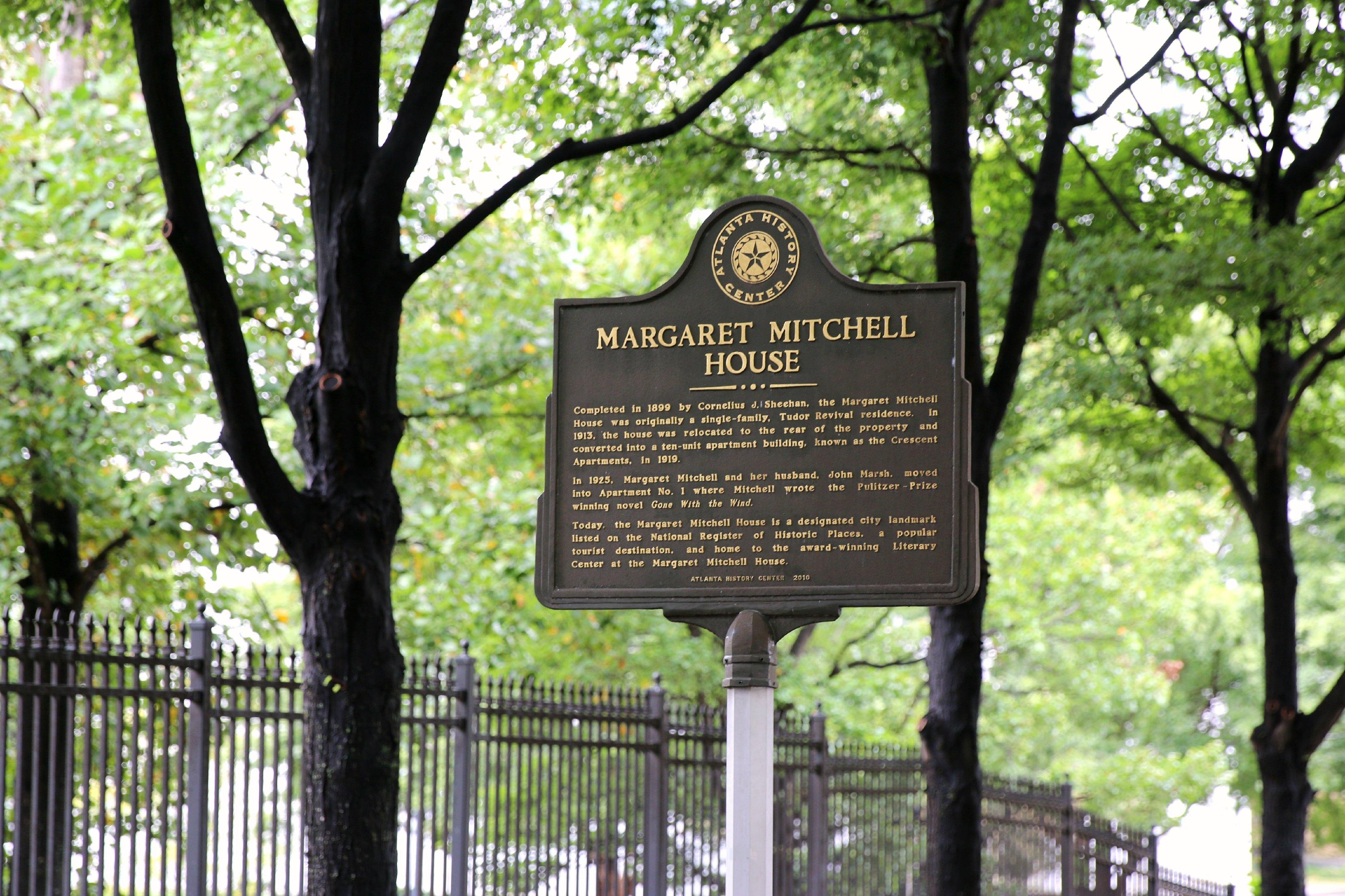 margaret mitchell house tour