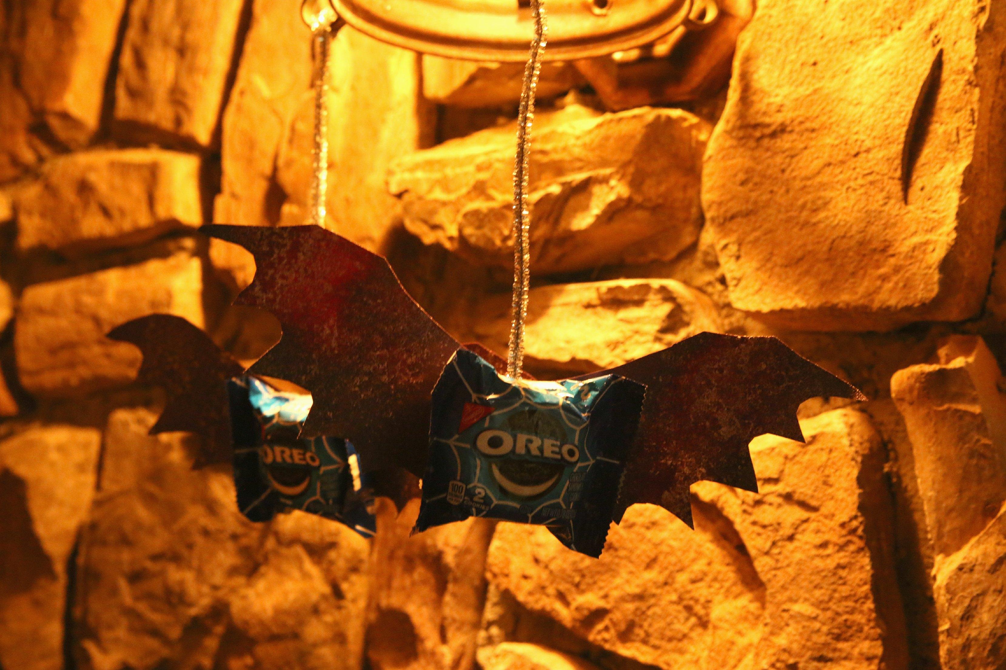 oreo bats for halloween treats