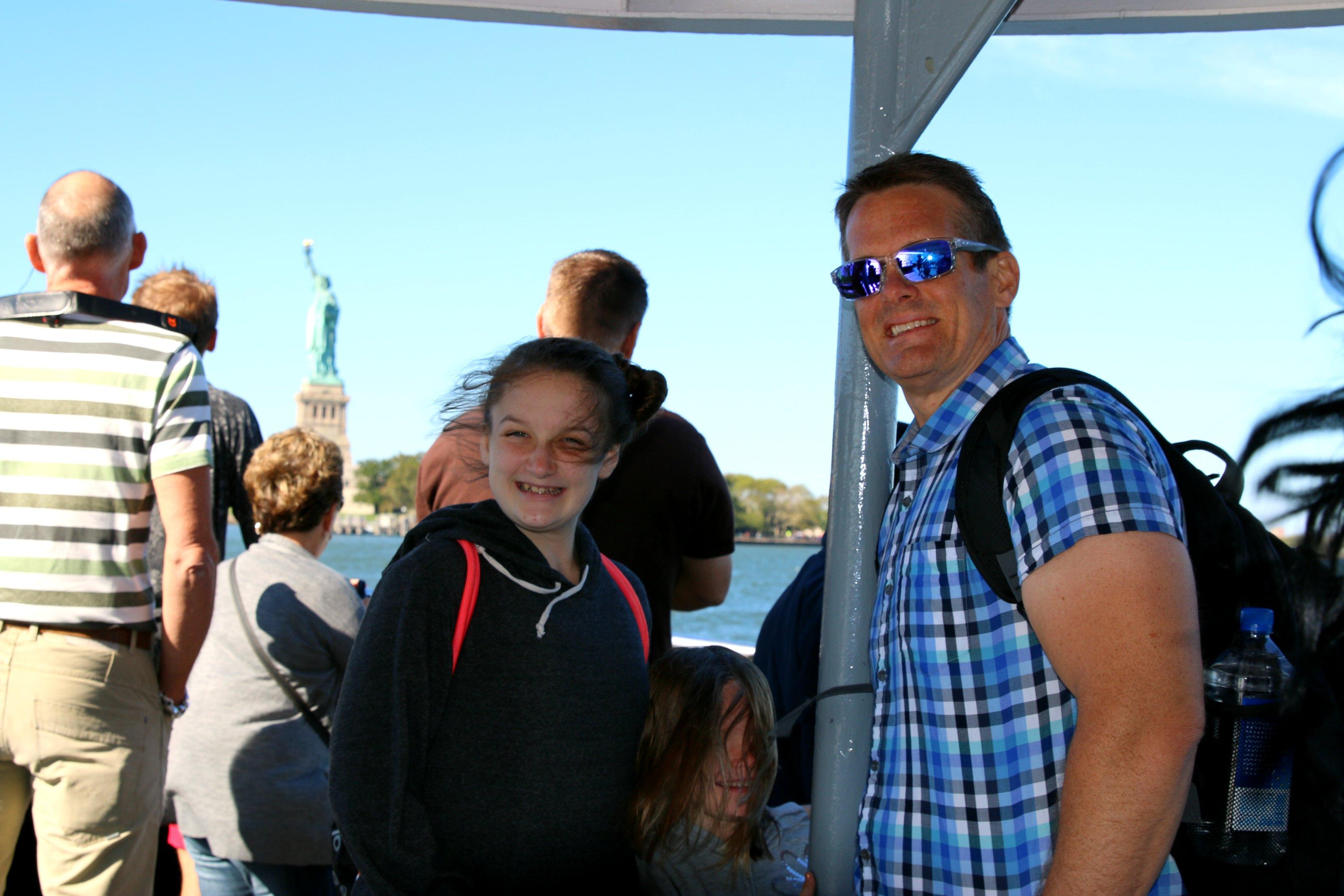boat ride in new york
