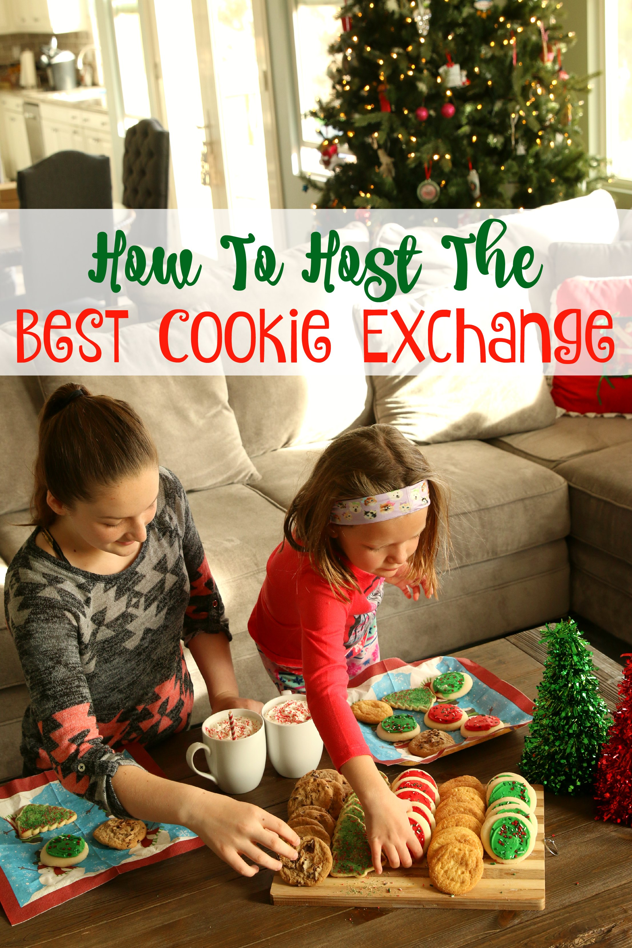 hoe to host the best cookie exchange
