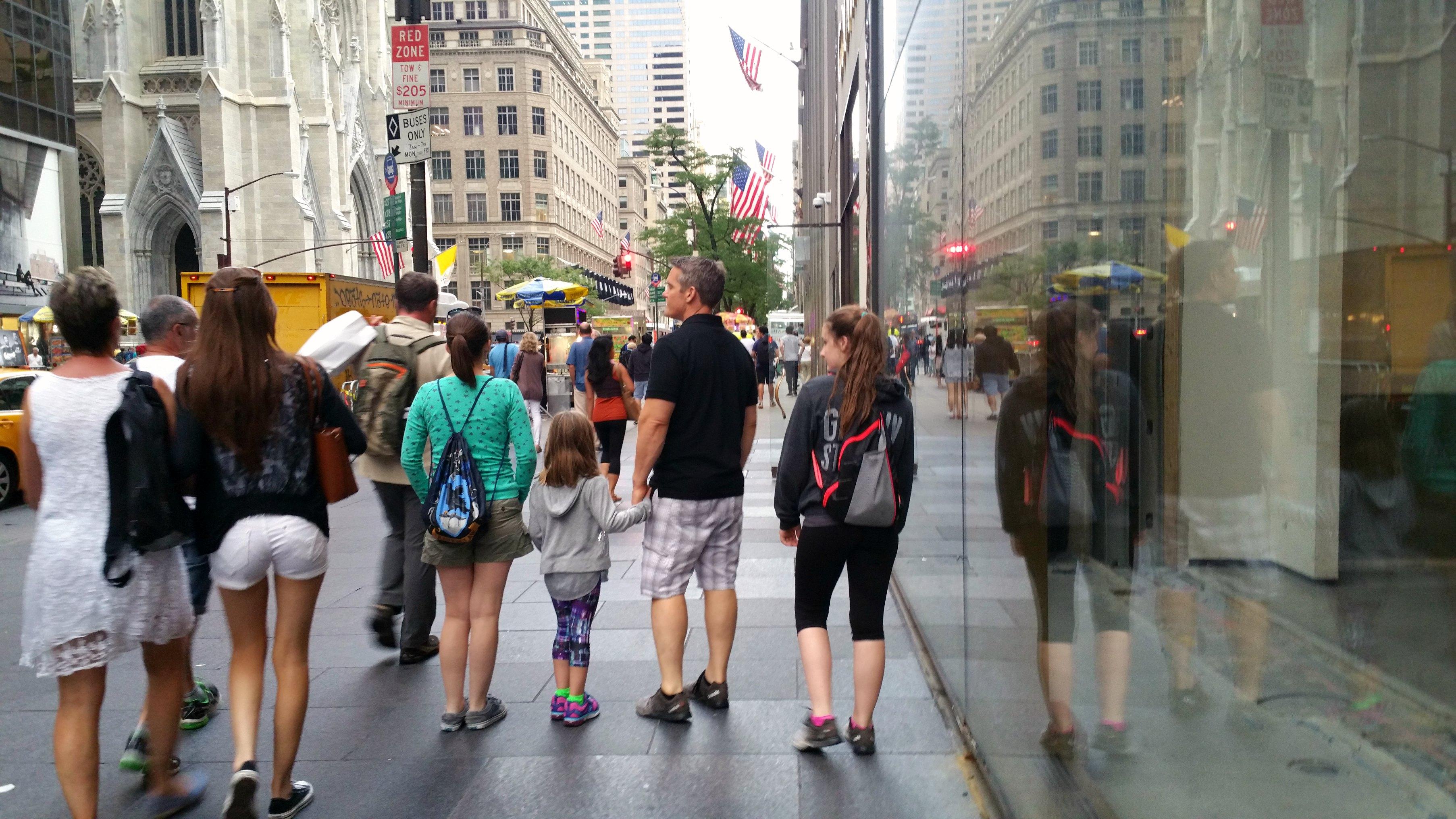 new york city family travel